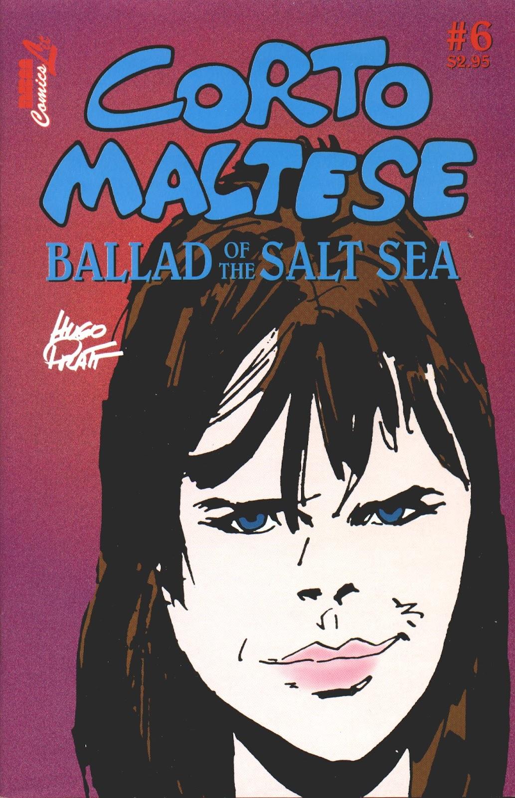 Corto Maltese: Ballad of the Salt Sea issue 6 - Page 1