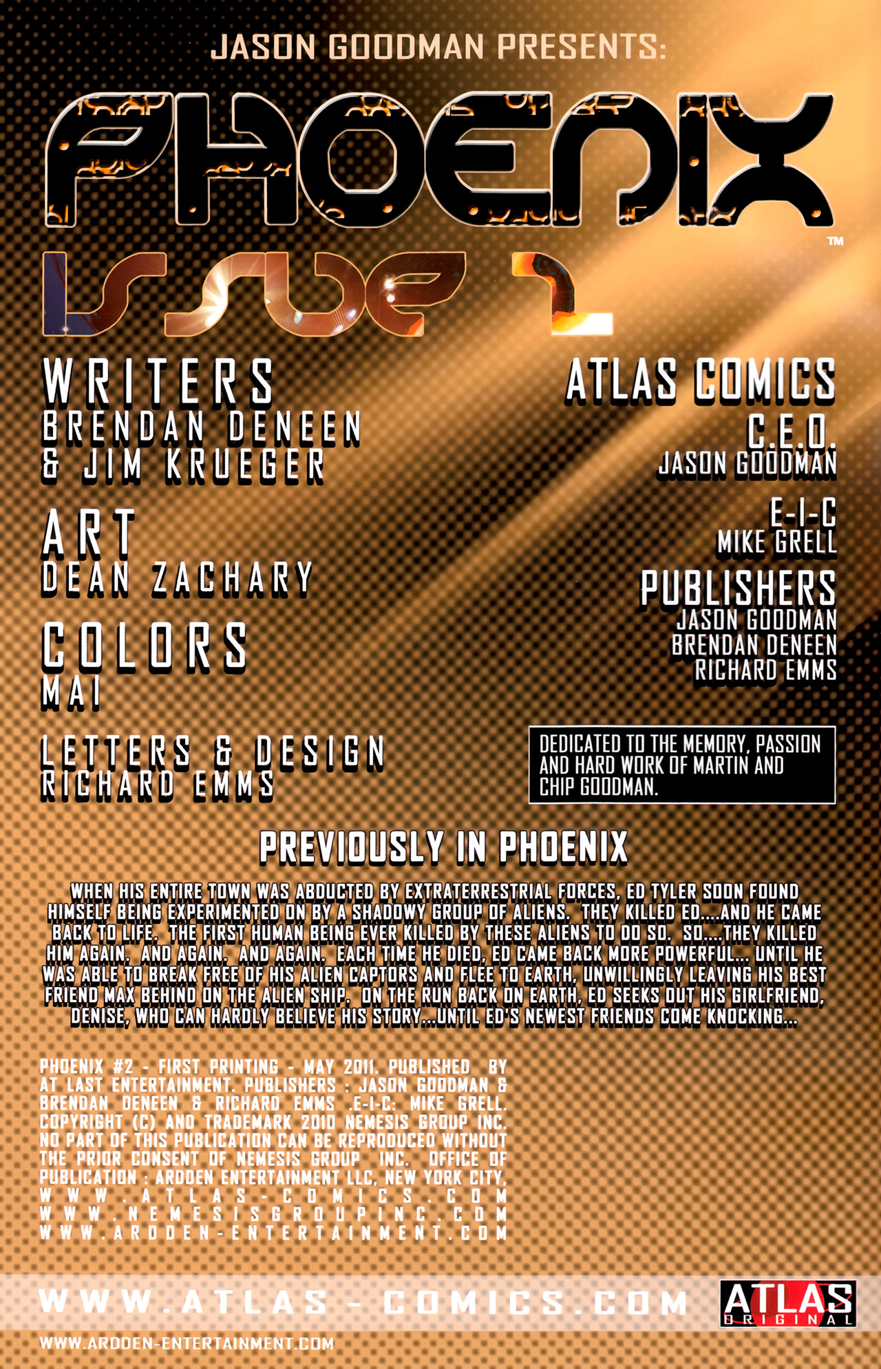 Read online Phoenix comic -  Issue #2 - 2
