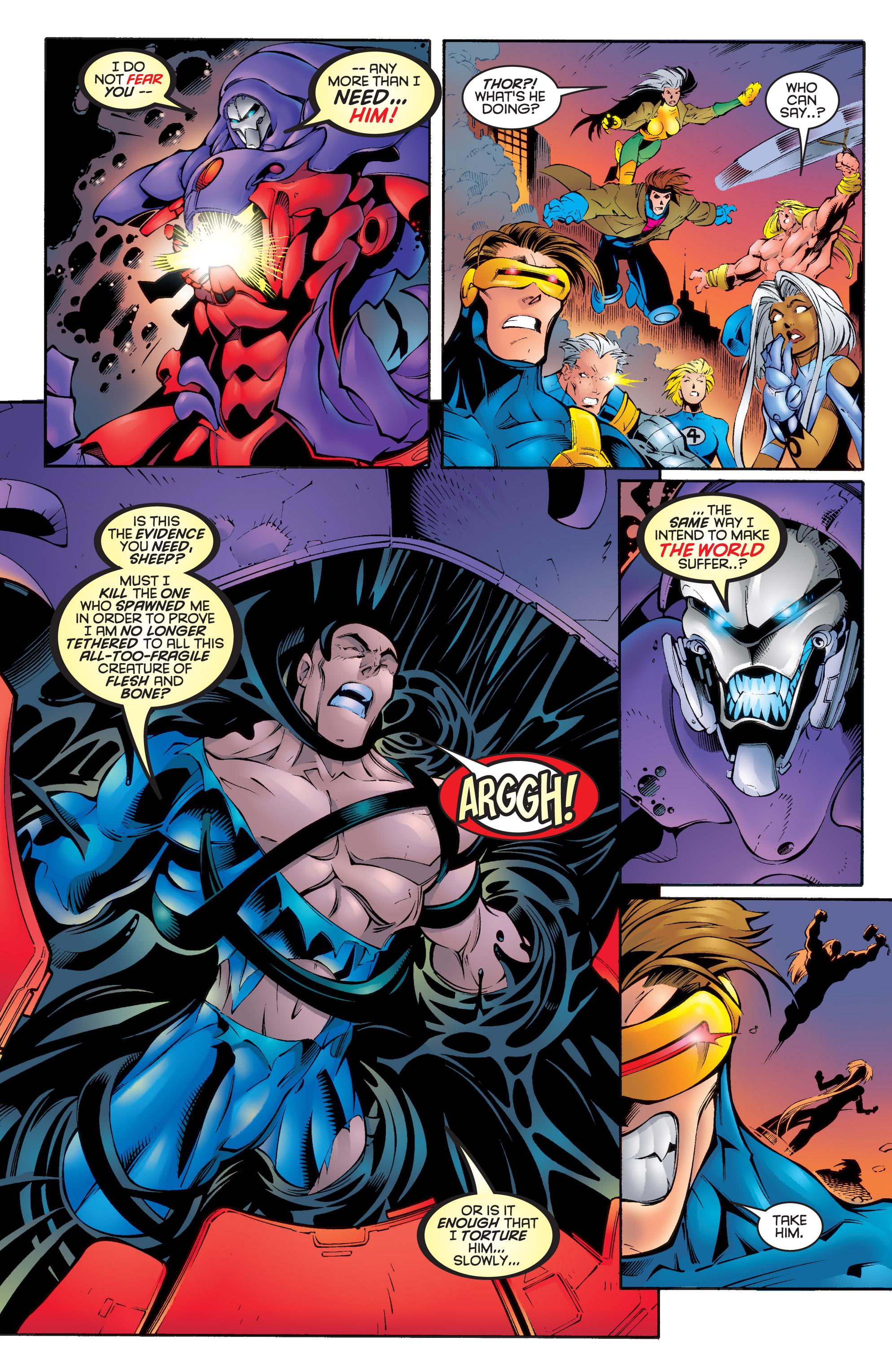 Read online Uncanny X-Men (1963) comic -  Issue #336 - 17