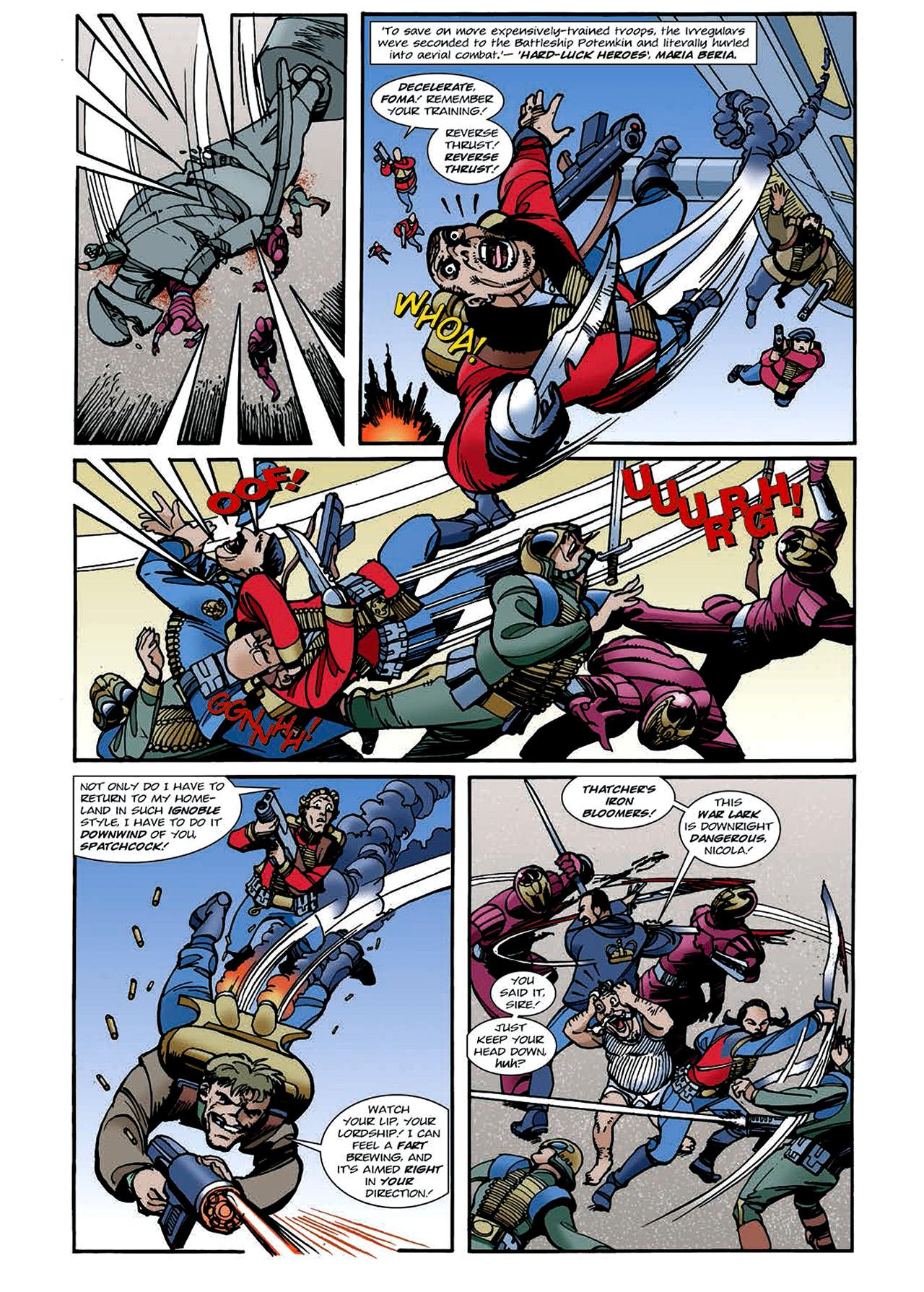 Read online Nikolai Dante comic -  Issue # TPB 4 - 105