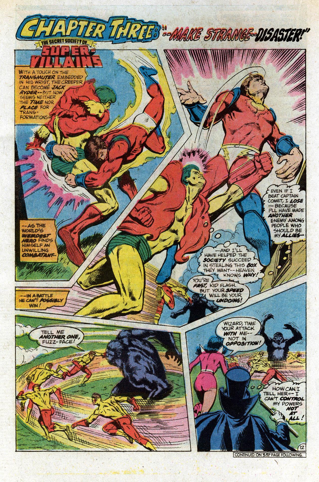 Read online Secret Society of Super-Villains comic -  Issue #9 - 22