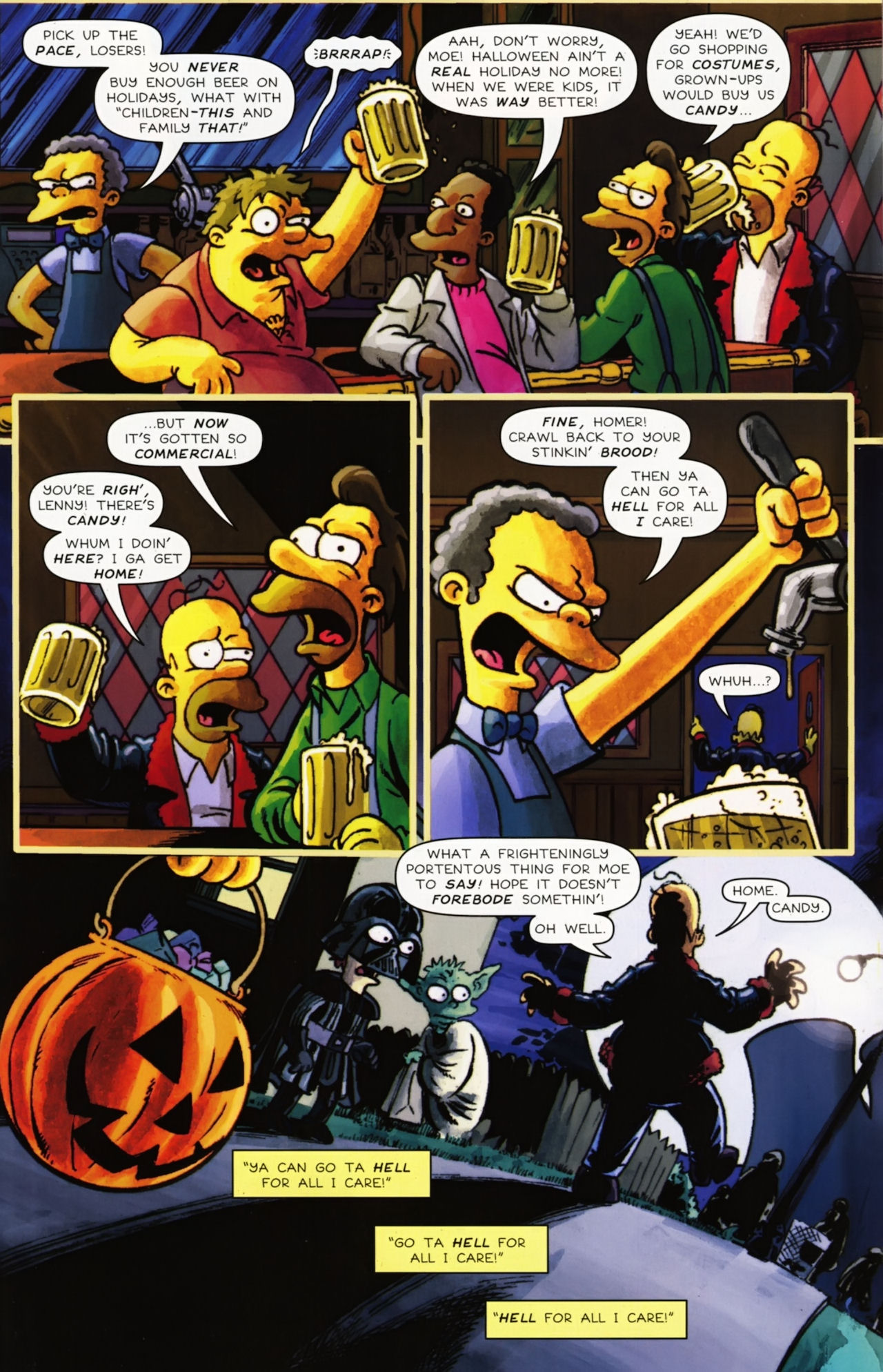 Read online Treehouse of Horror comic -  Issue #16 - 44