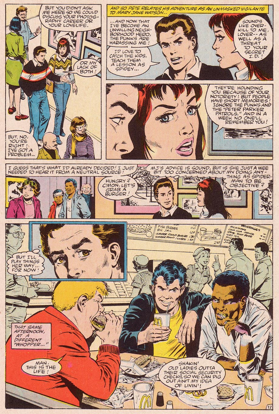 Web of Spider-Man (1985) Issue #11 #21 - English 13
