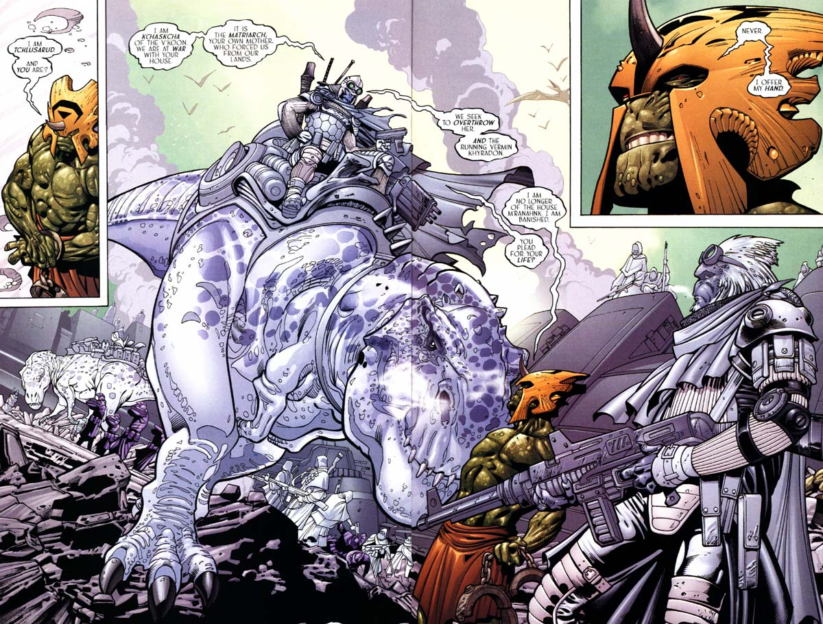 Read online Sigil (2000) comic -  Issue #24 - 23