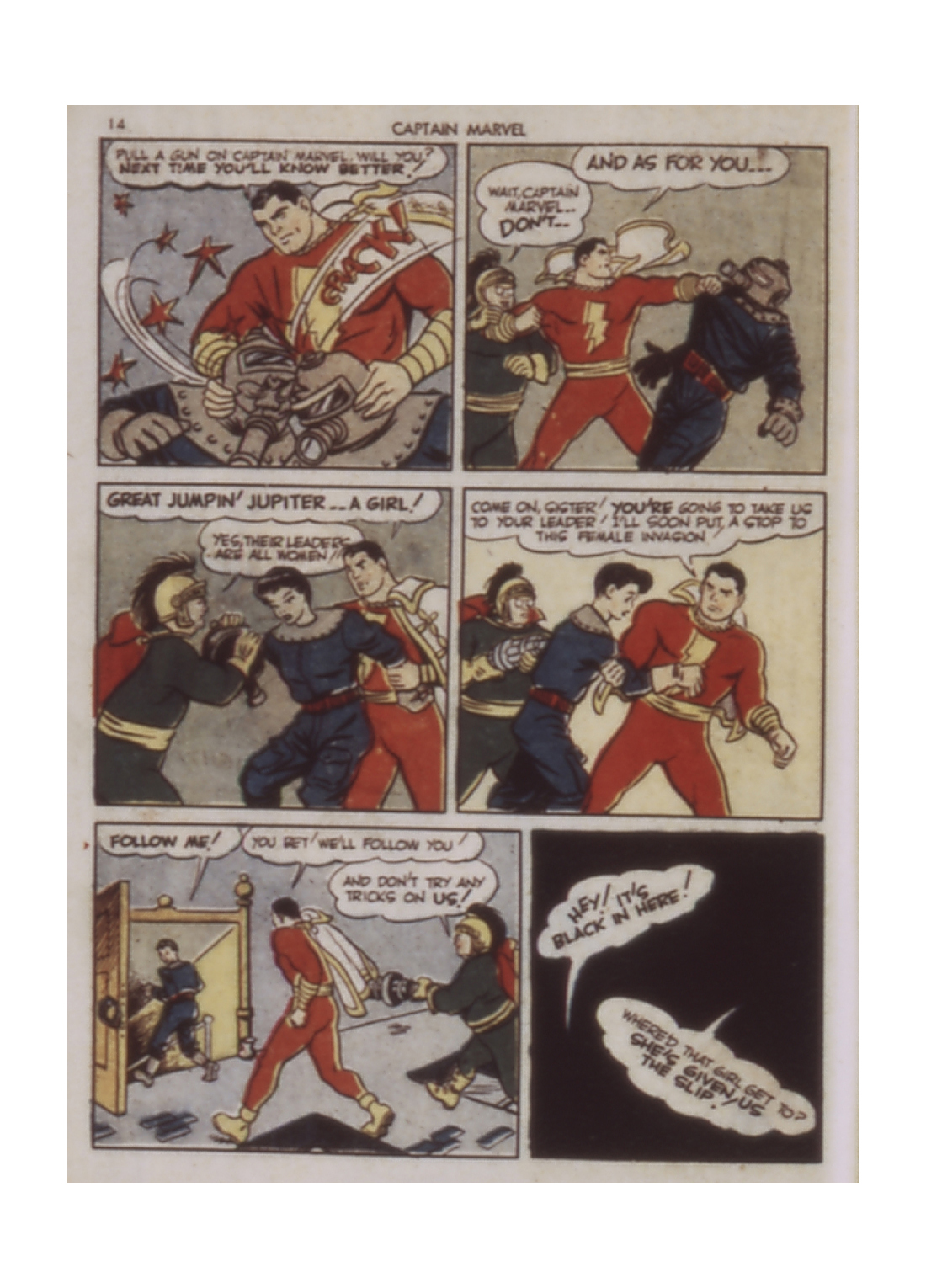 Captain Marvel Adventures issue 9 - Page 14