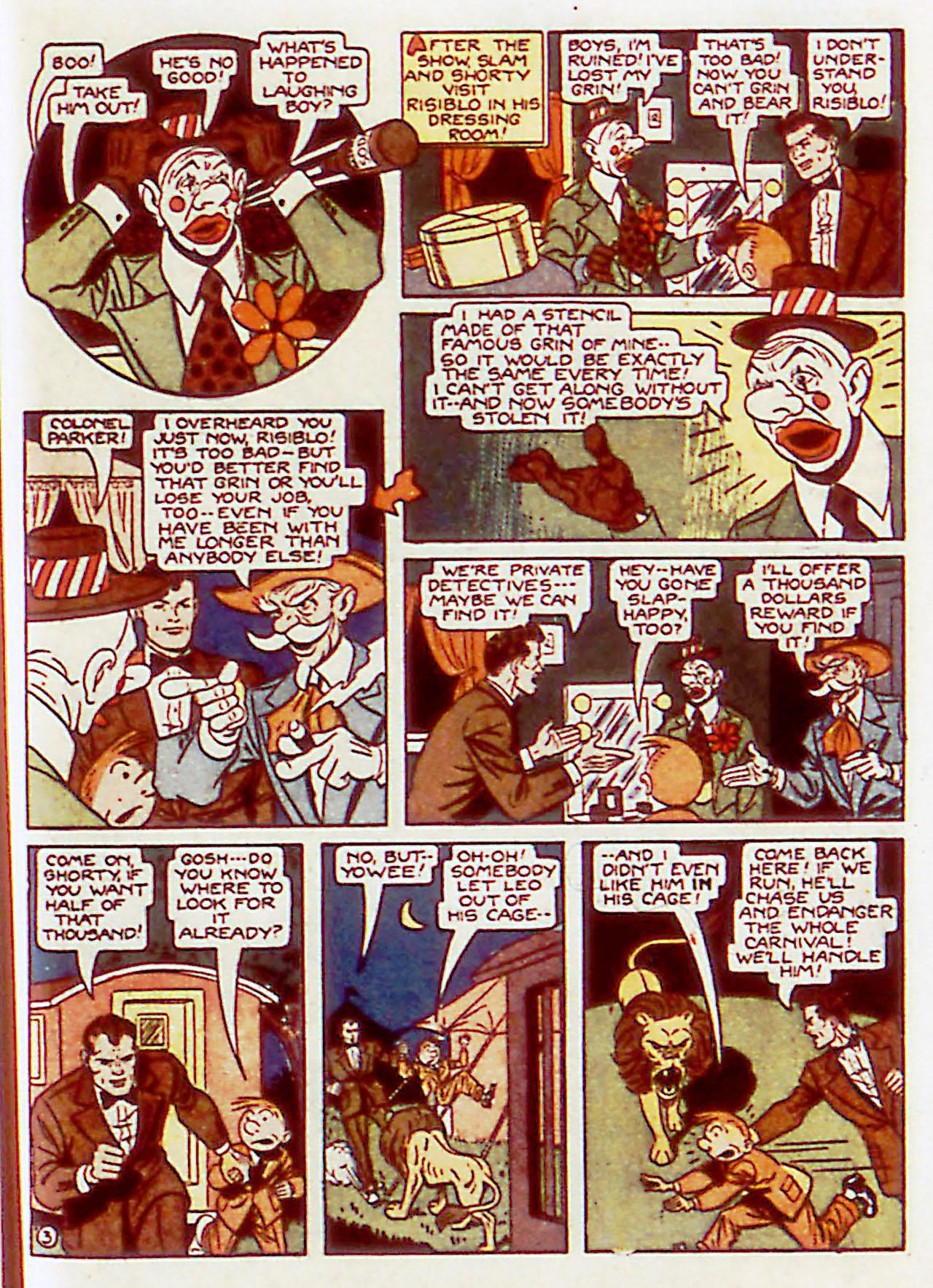 Read online Detective Comics (1937) comic -  Issue #71 - 61
