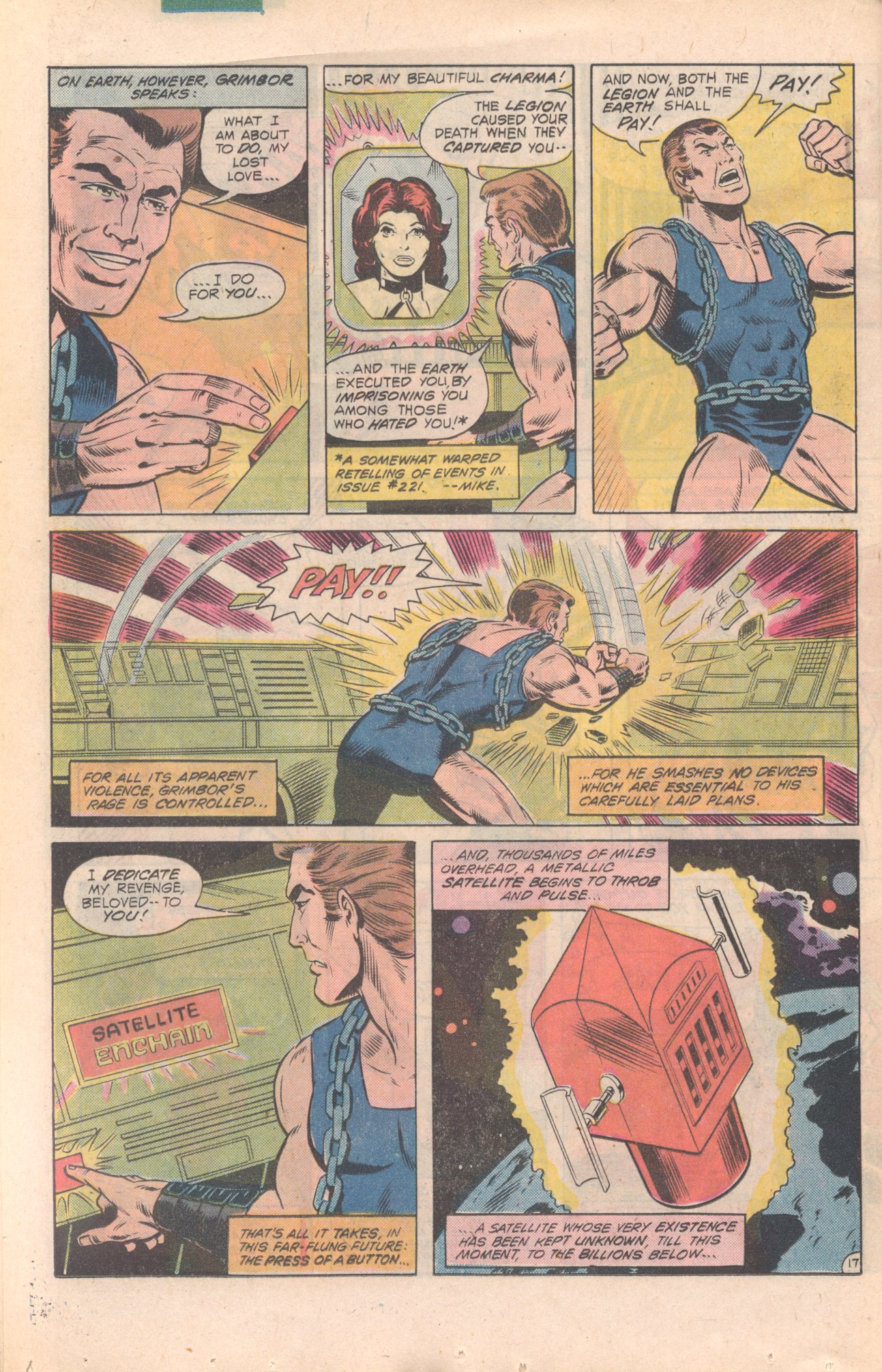 Legion of Super-Heroes (1980) 277 Page 17