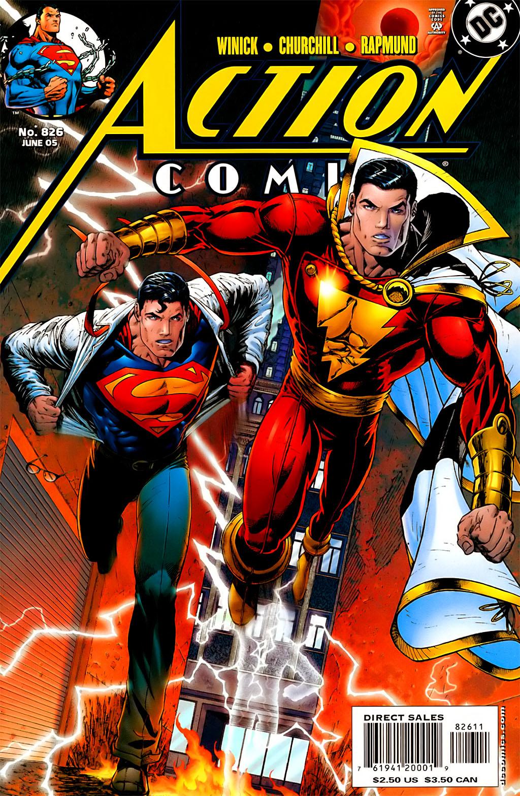 Action Comics (1938) 826 Page 1