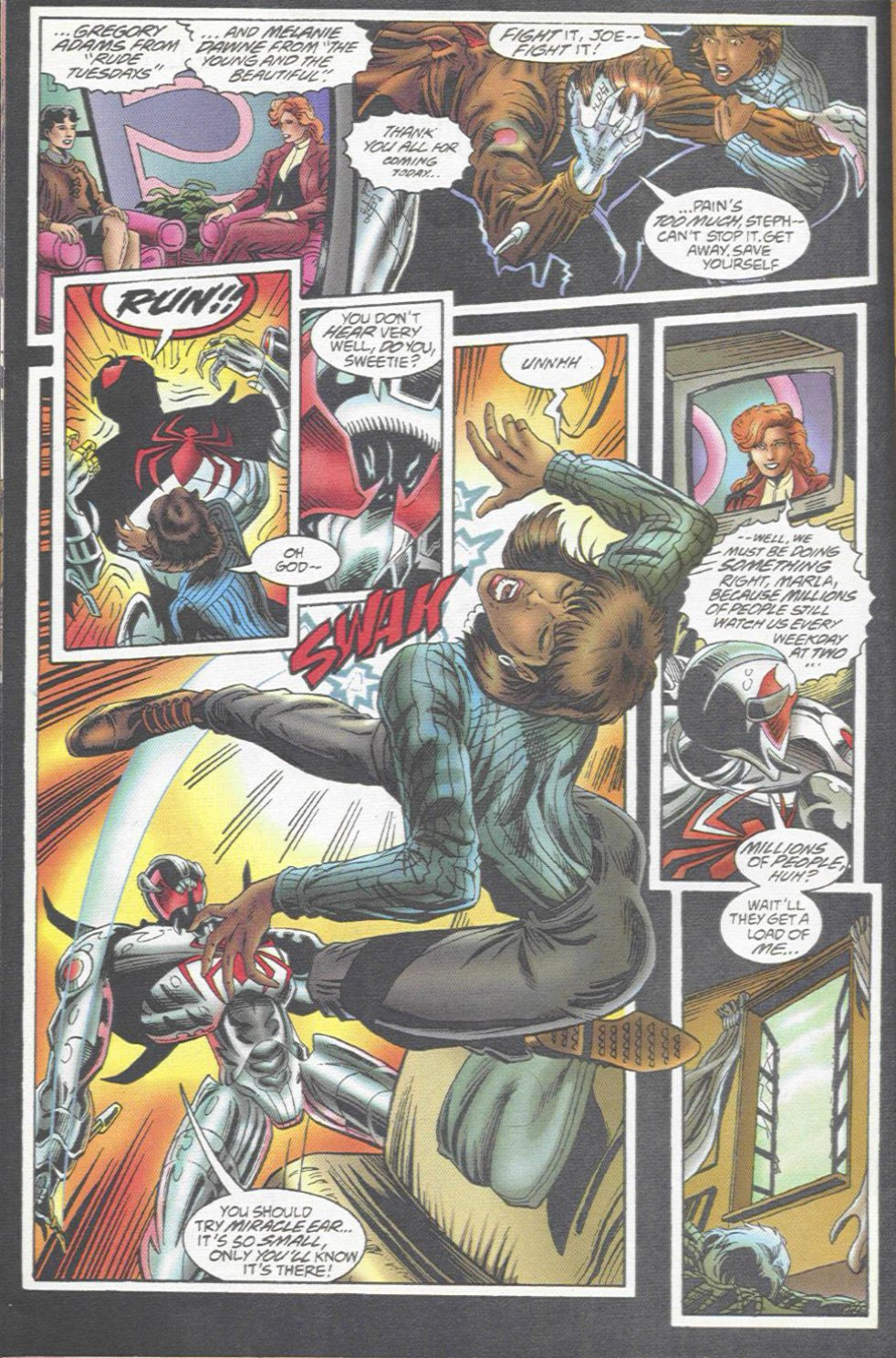 The New Warriors Issue #67 #71 - English 20