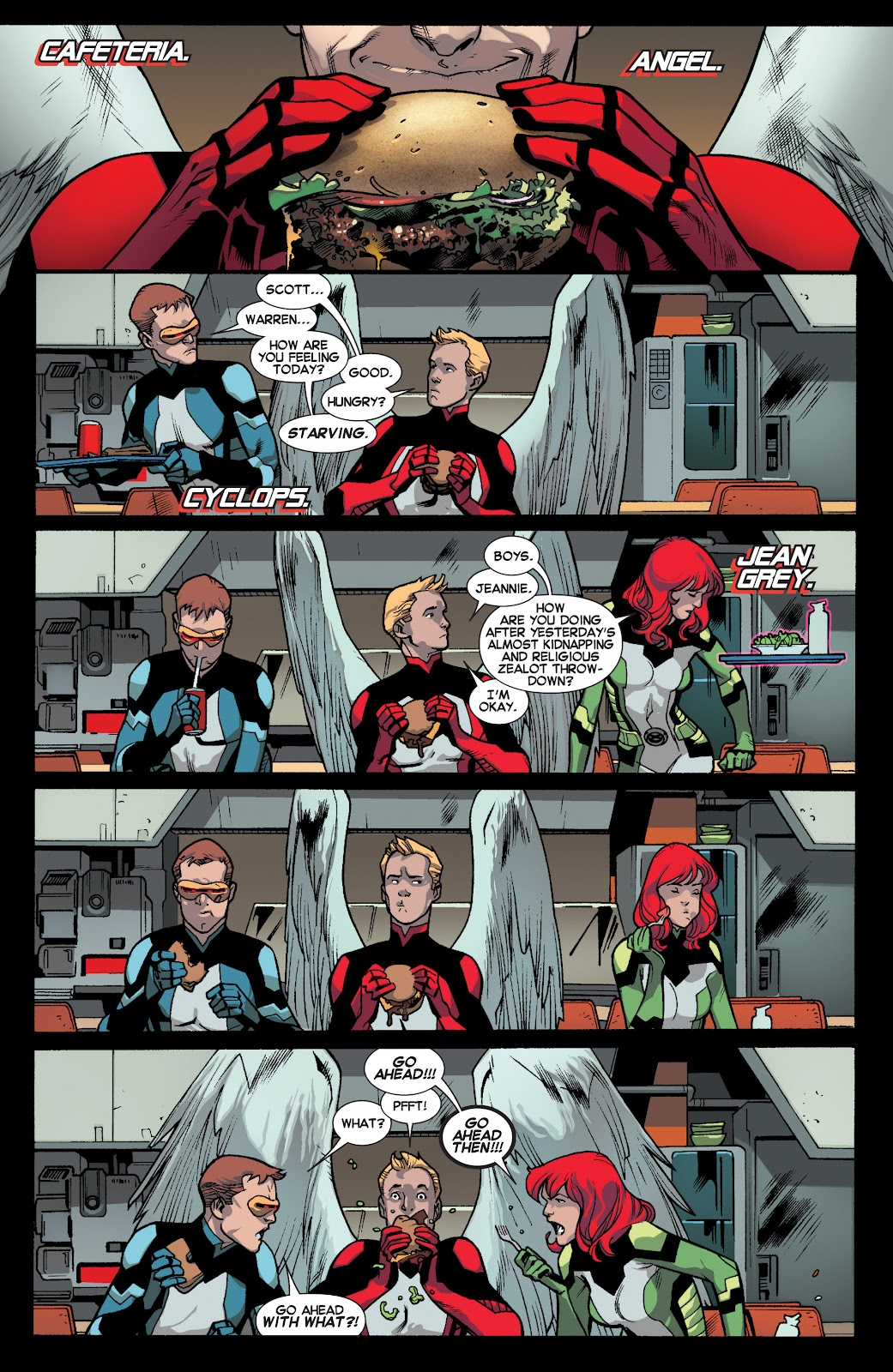 Guardians of the Galaxy/All-New X-Men: The Trial of Jean Grey issue TPB - Page 6