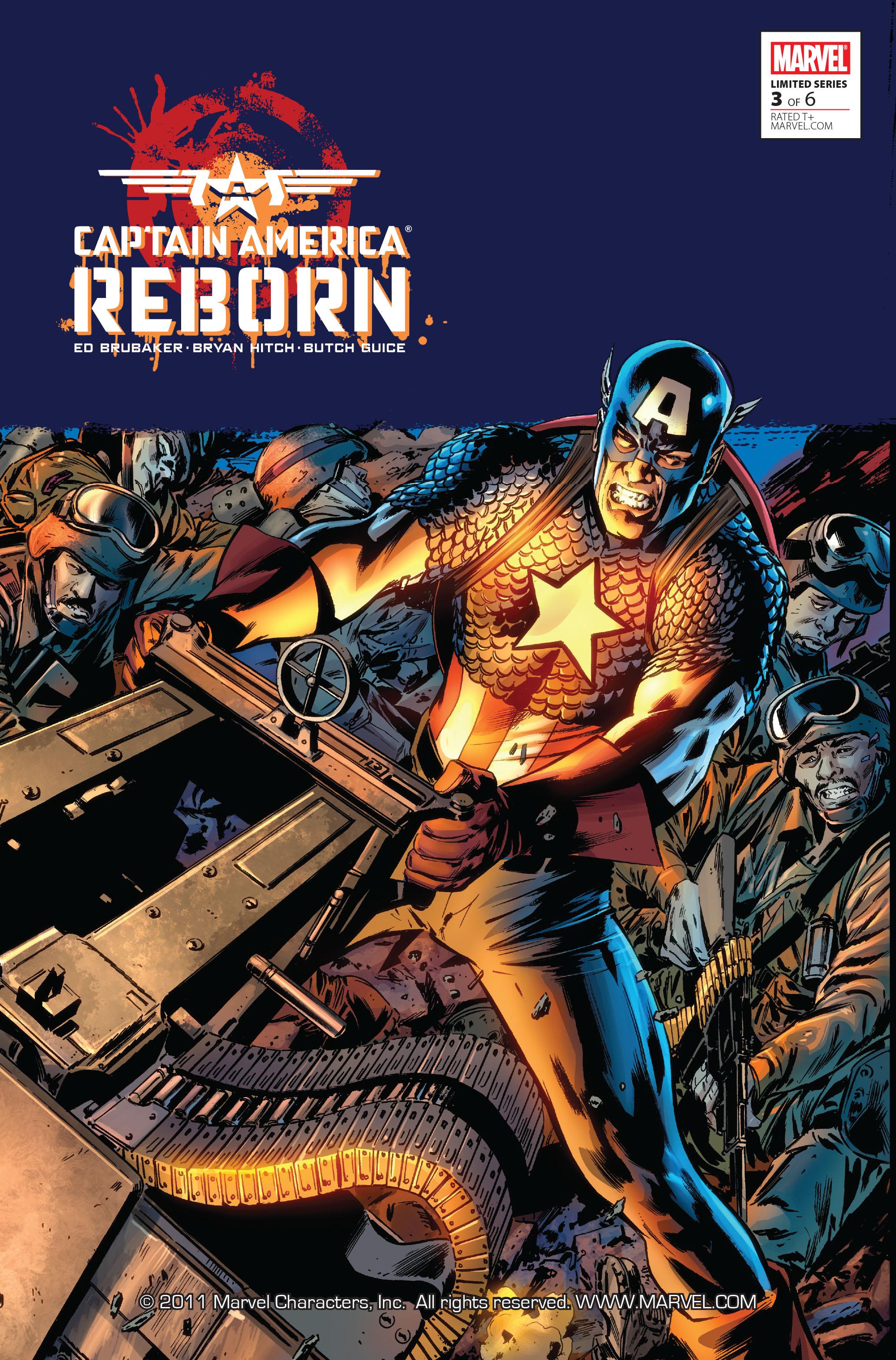 Captain America: Reborn 3 Page 1