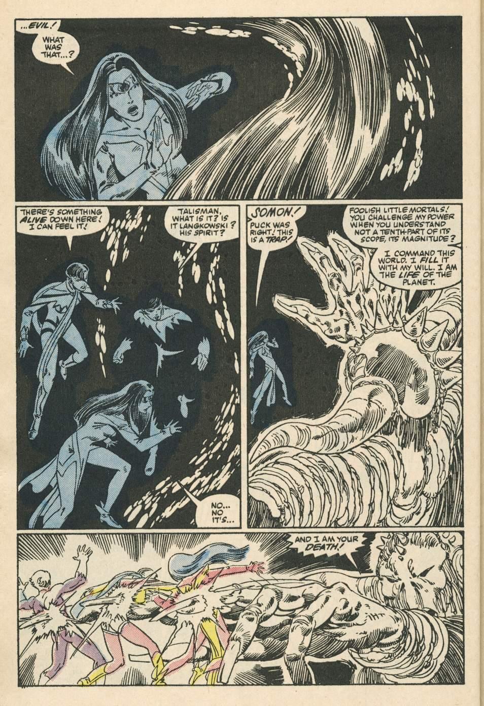 Read online Alpha Flight (1983) comic -  Issue #24 - 28