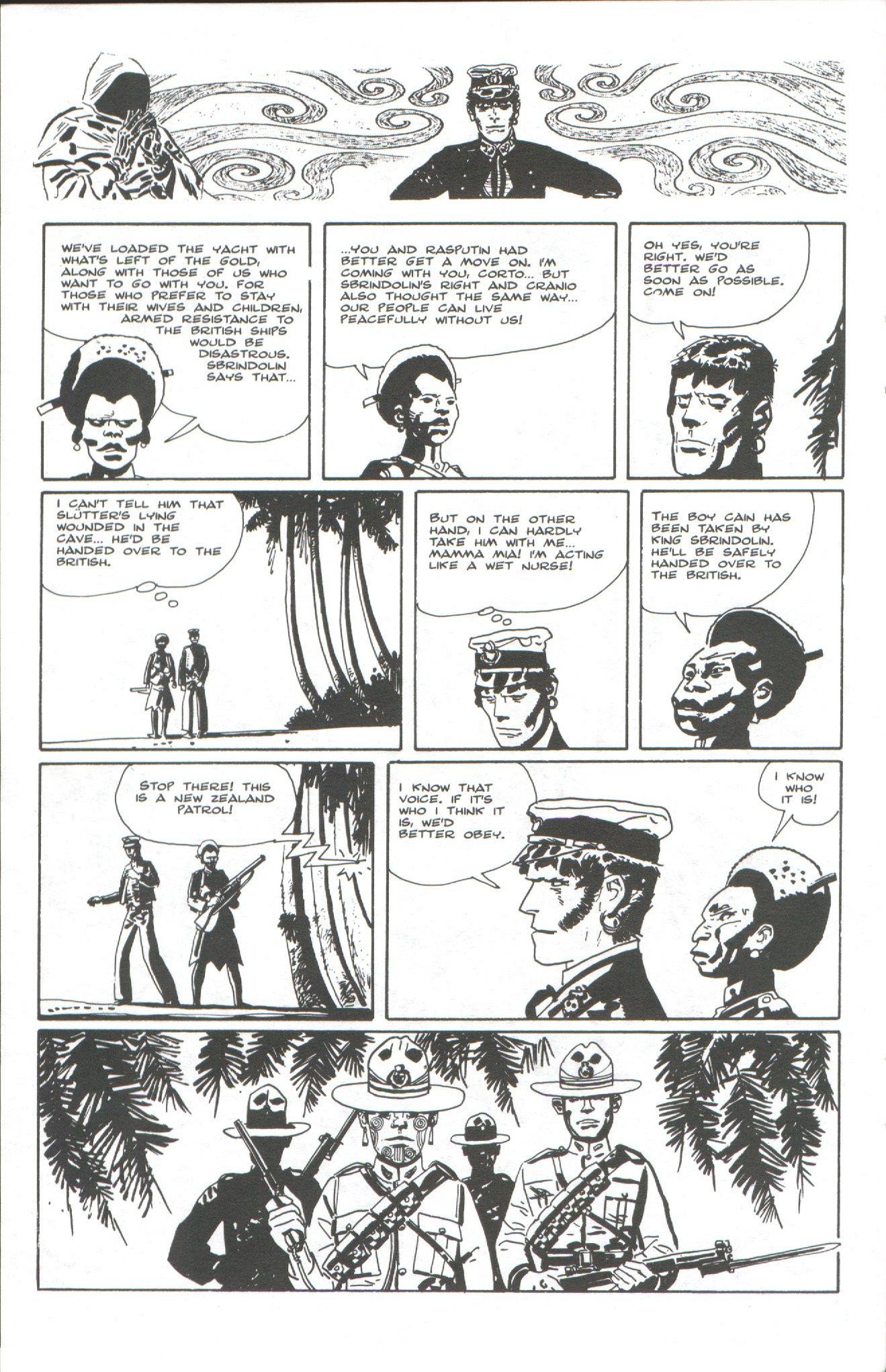 Read online Corto Maltese: Ballad of the Salt Sea comic -  Issue #6 - 22