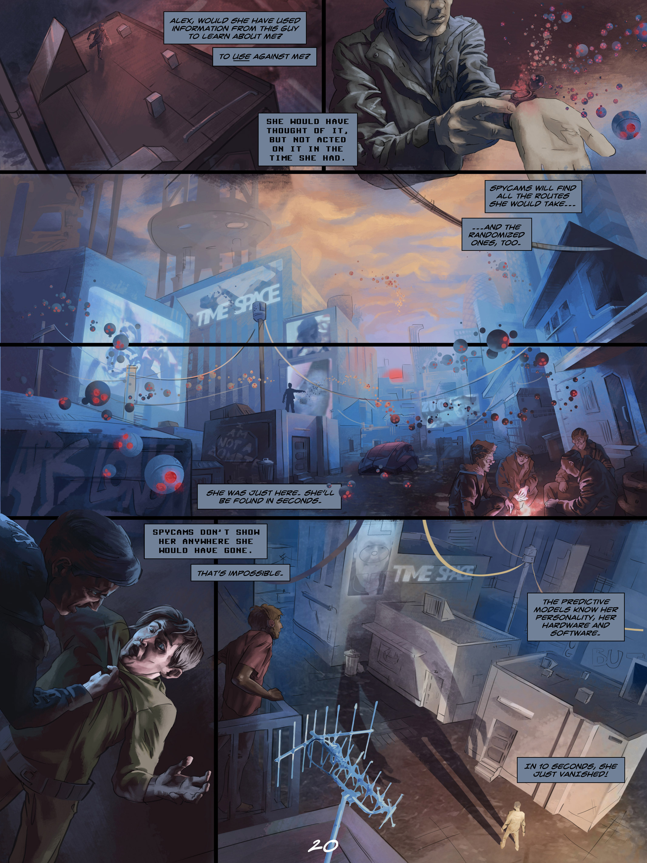 Read online Wynter comic -  Issue #4 - 21