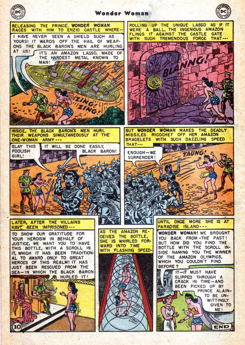 Read online Wonder Woman (1942) comic -  Issue #72 - 12