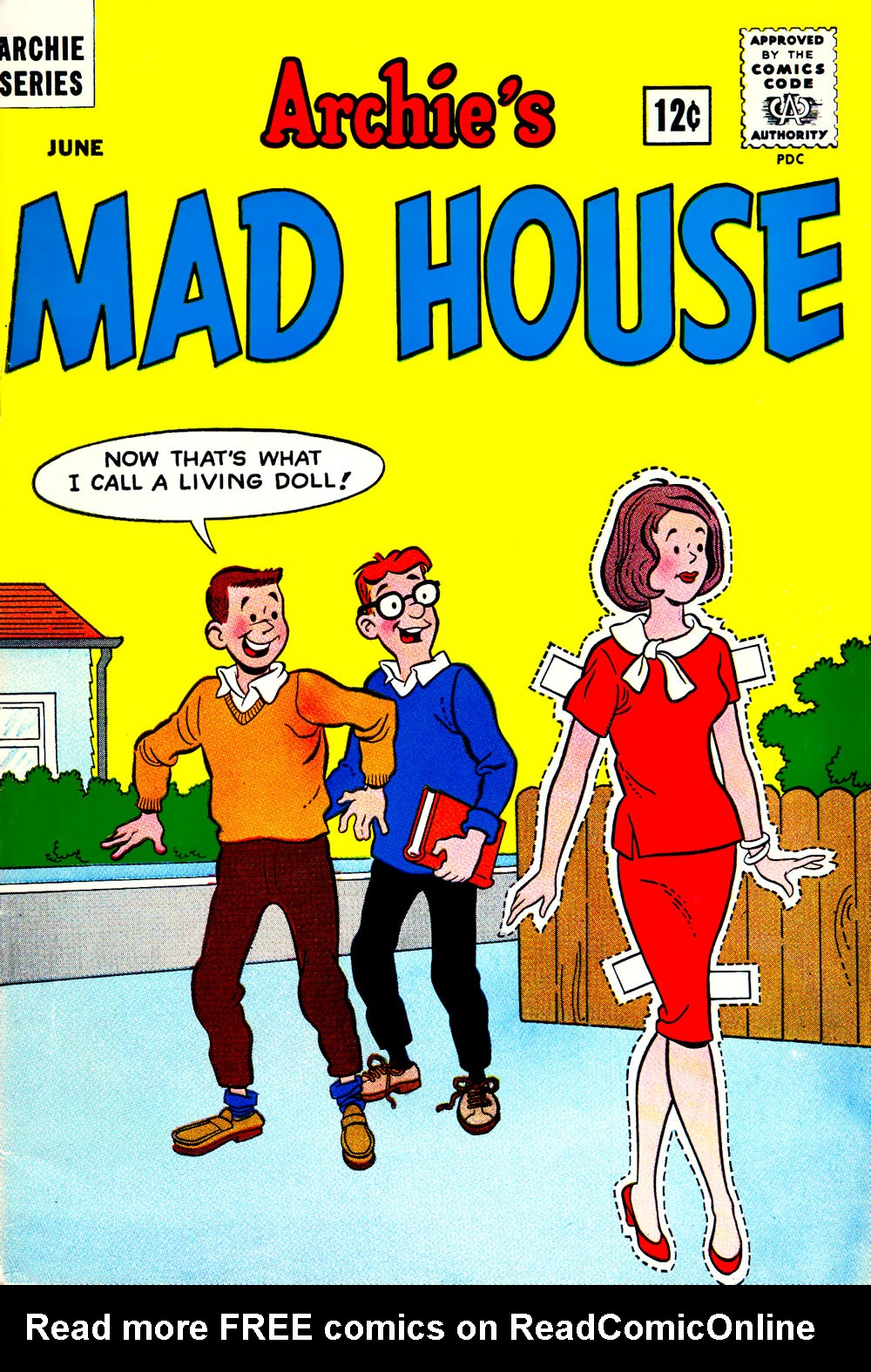 Archie's Madhouse issue 33 - Page 1