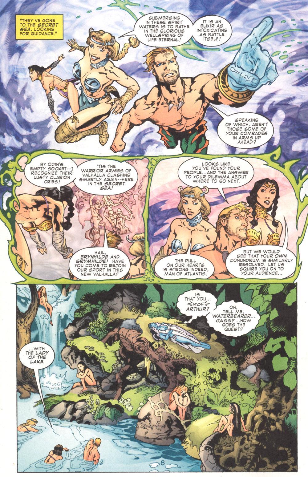 Read online Aquaman (2003) comic -  Issue #9 - 8