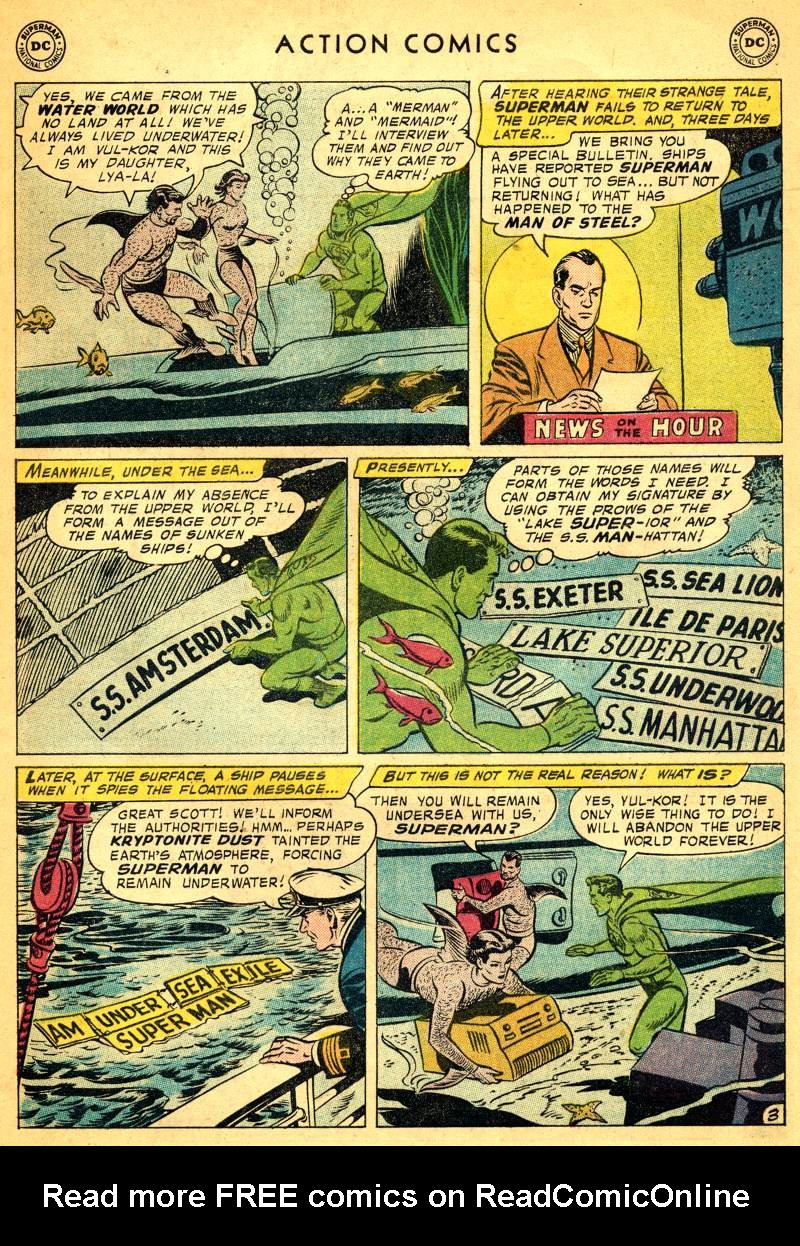 Read online Action Comics (1938) comic -  Issue #244 - 5