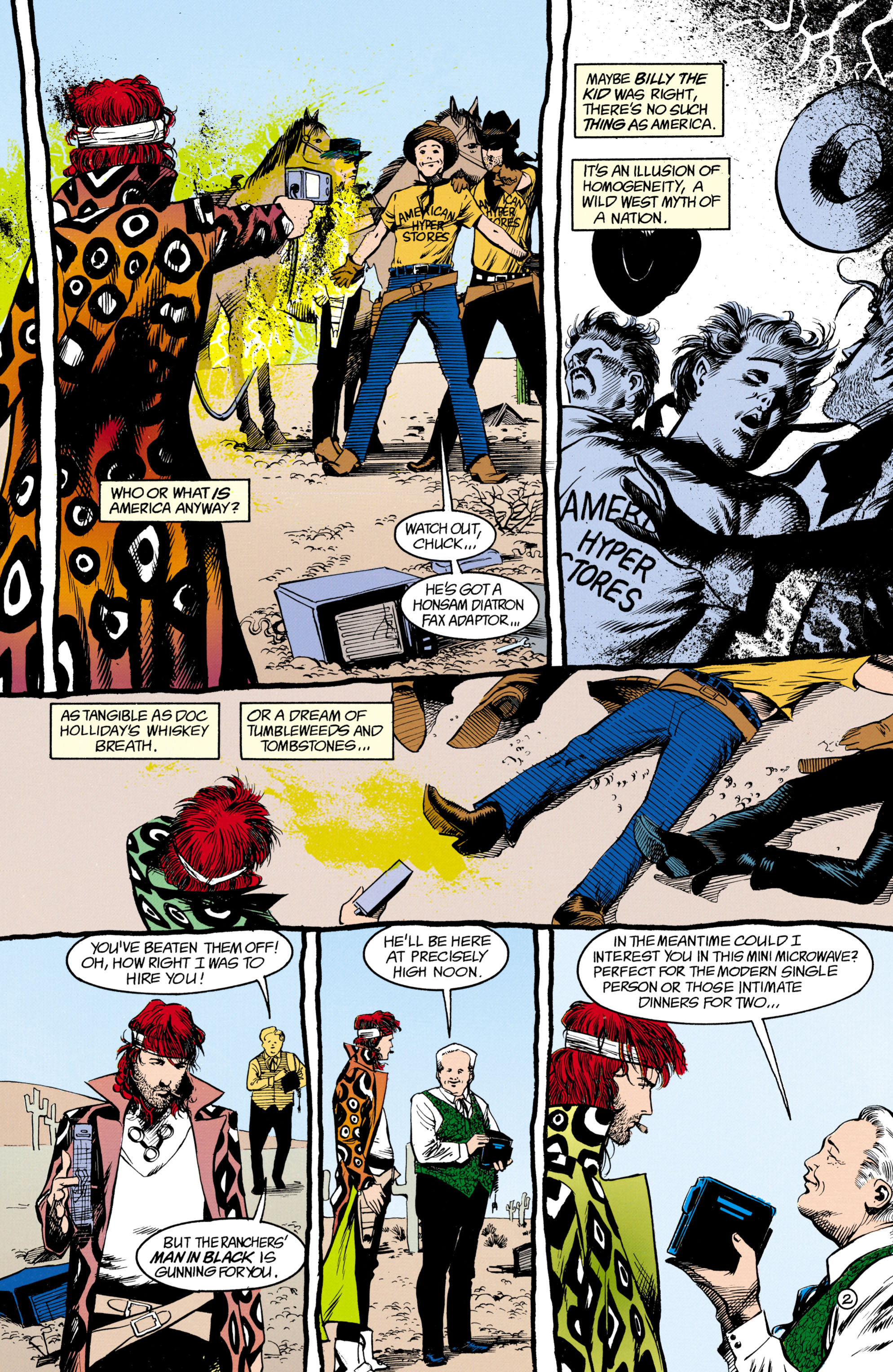 Read online Shade, the Changing Man comic -  Issue #16 - 3