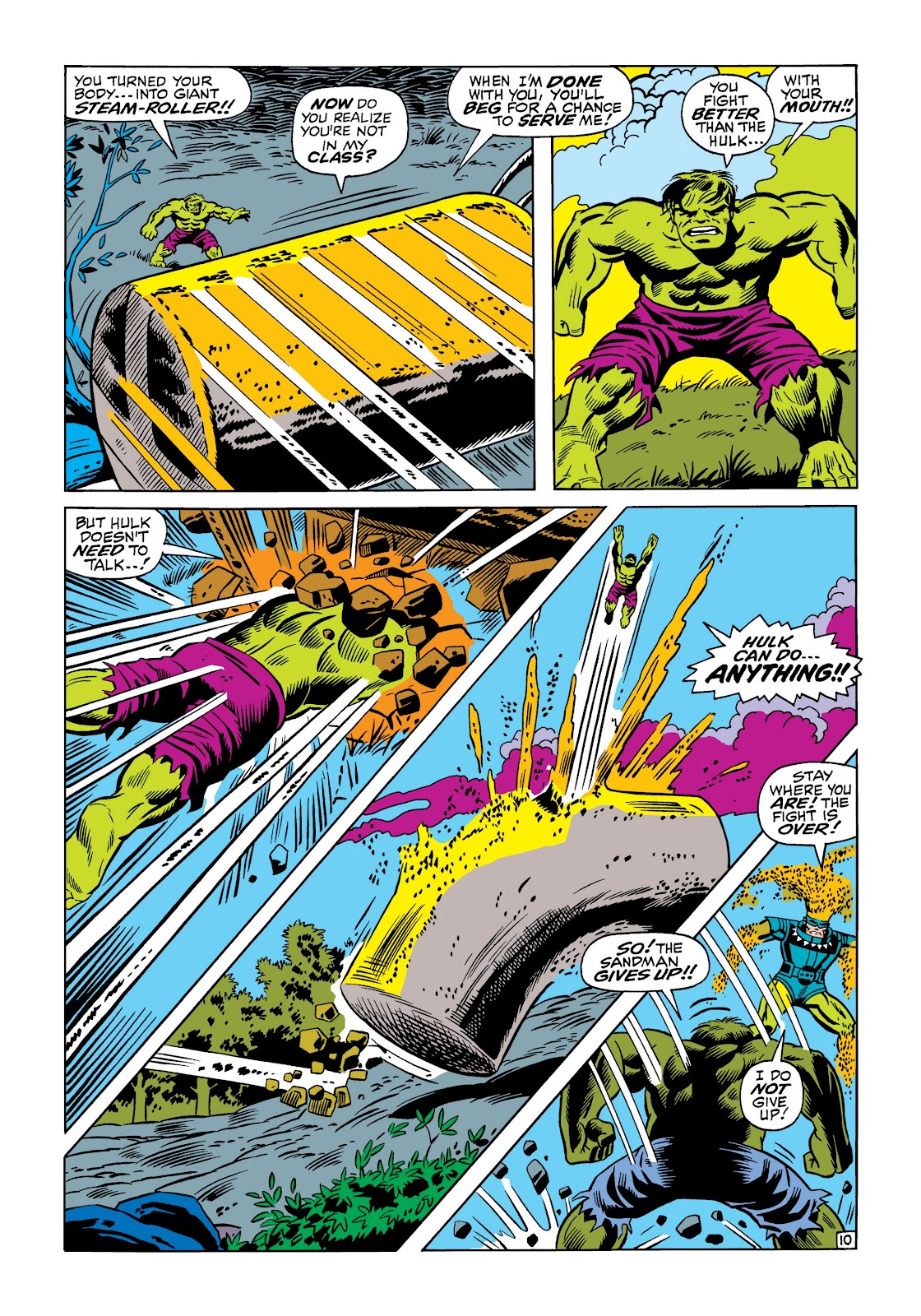 Read online Marvel Masterworks: The Incredible Hulk comic -  Issue # TPB 5 (Part 1) - 58