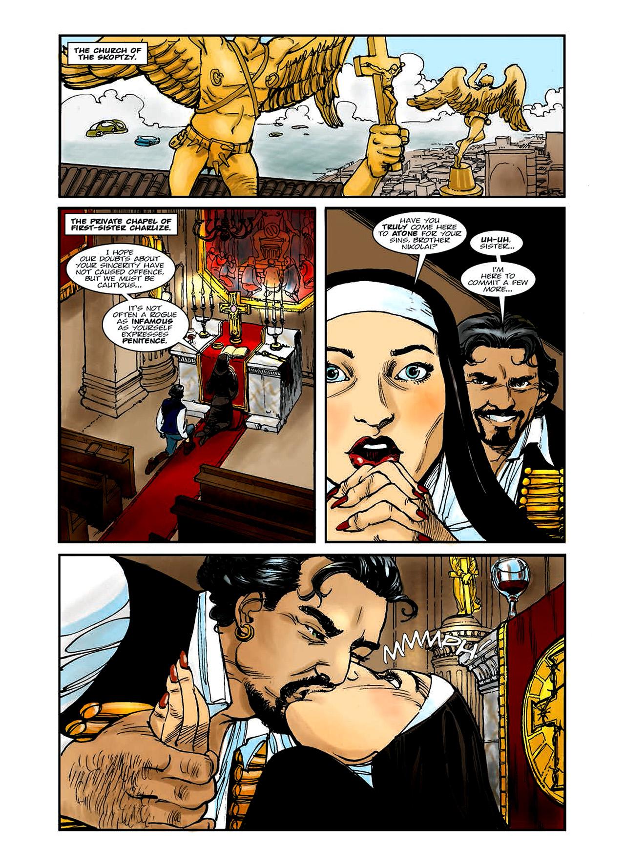 Read online Nikolai Dante comic -  Issue # TPB 6 - 18