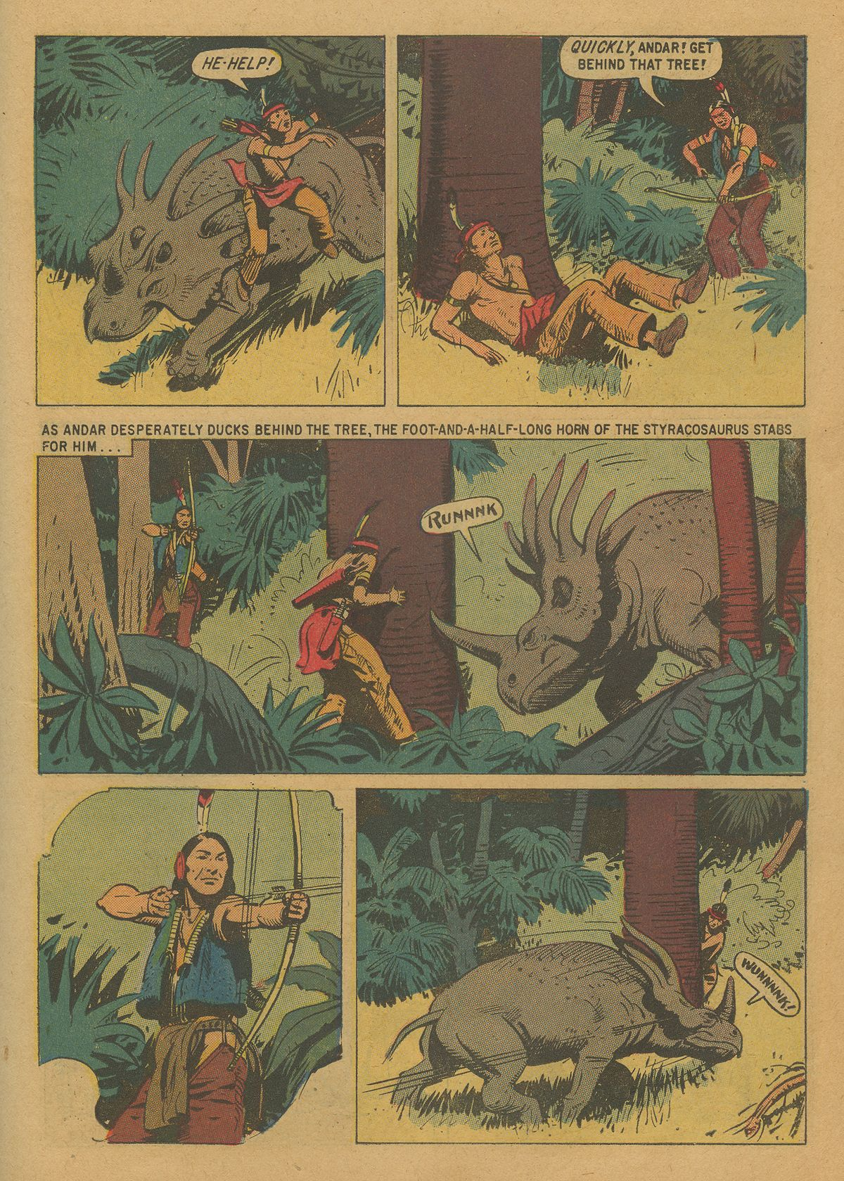 Read online Turok, Son of Stone comic -  Issue #20 - 23