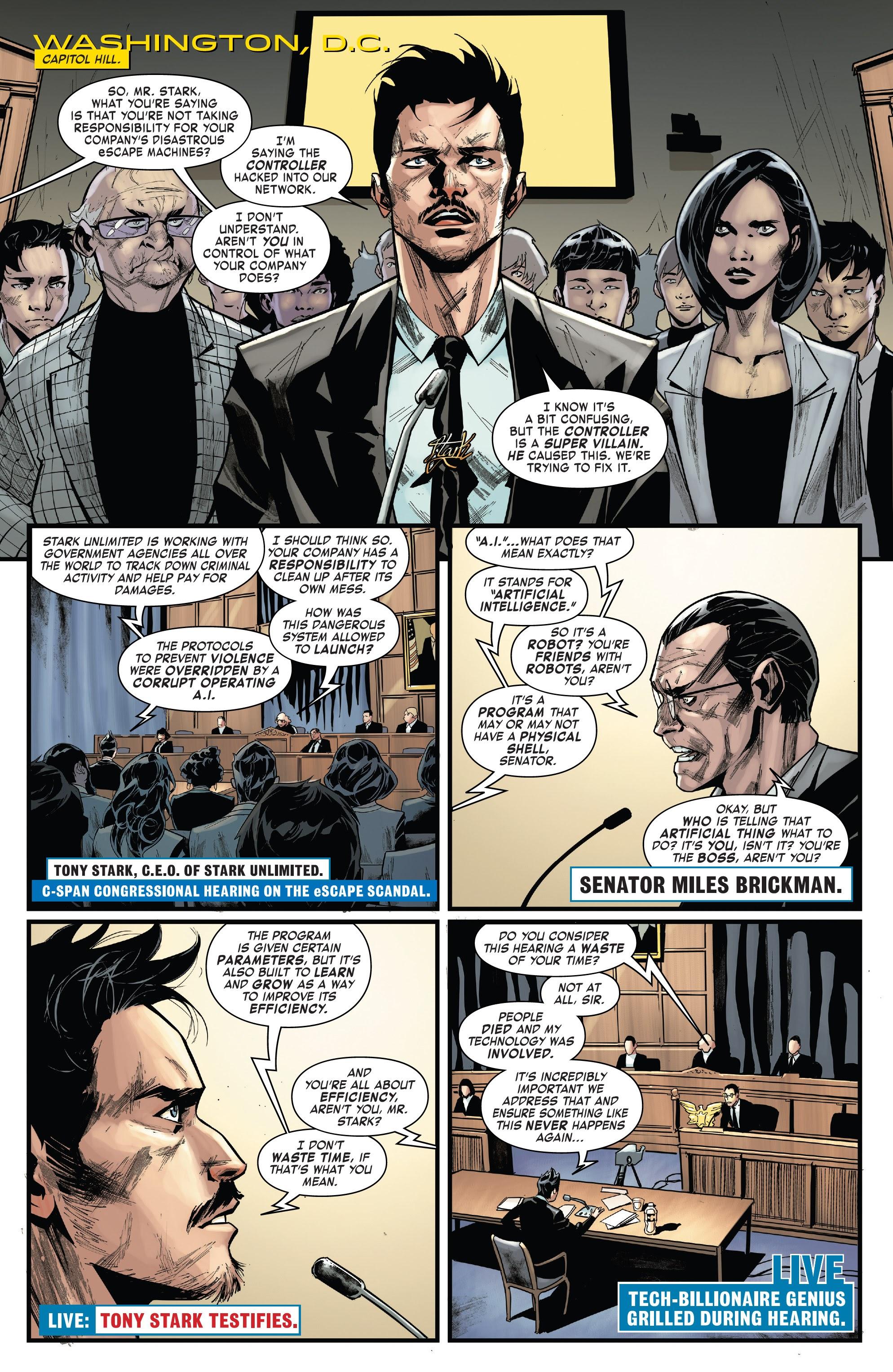 Read online Tony Stark: Iron Man comic -  Issue #15 - 3