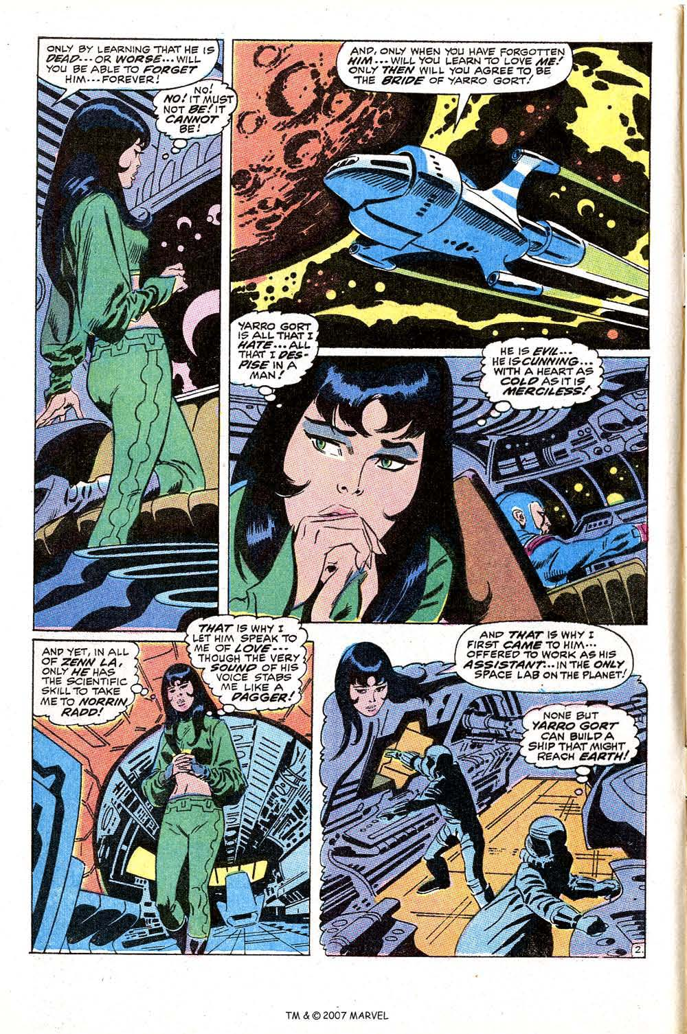 Silver Surfer (1968) Issue #10 #10 - English 4