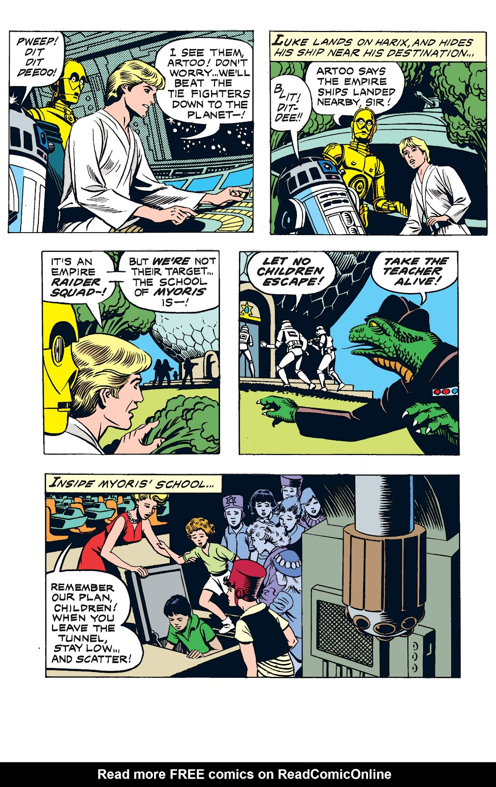 Read online Star Wars Legends: The Newspaper Strips - Epic Collection comic -  Issue # TPB (Part 3) - 4