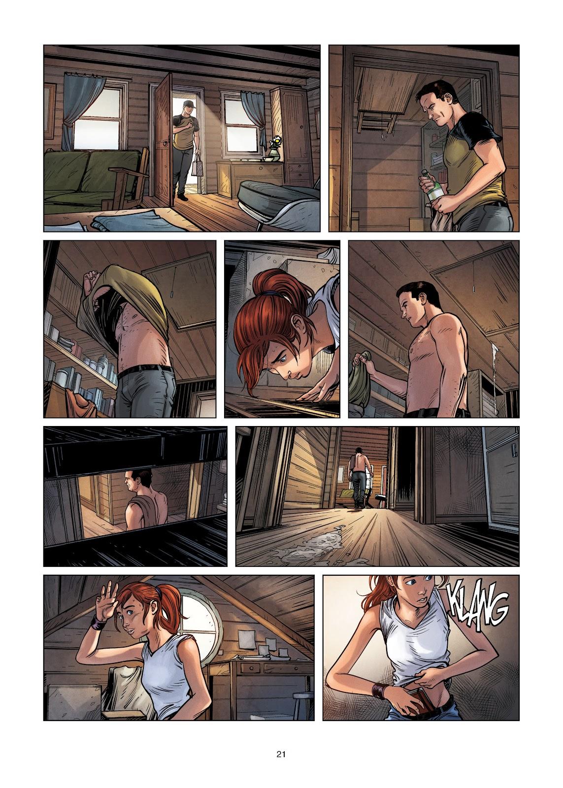 Read online Vigilantes comic -  Issue #3 - 21