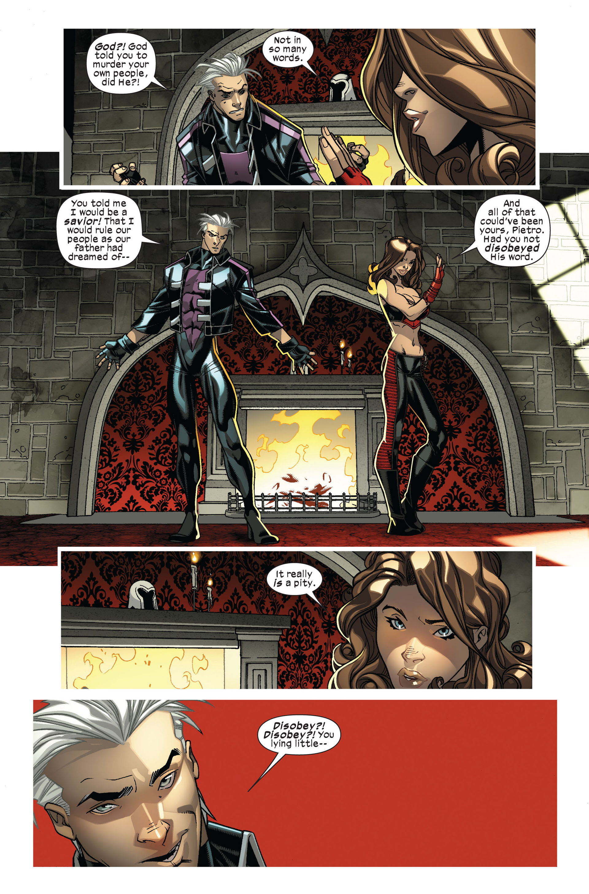 Read online Ultimate Comics X-Men comic -  Issue #7 - 14
