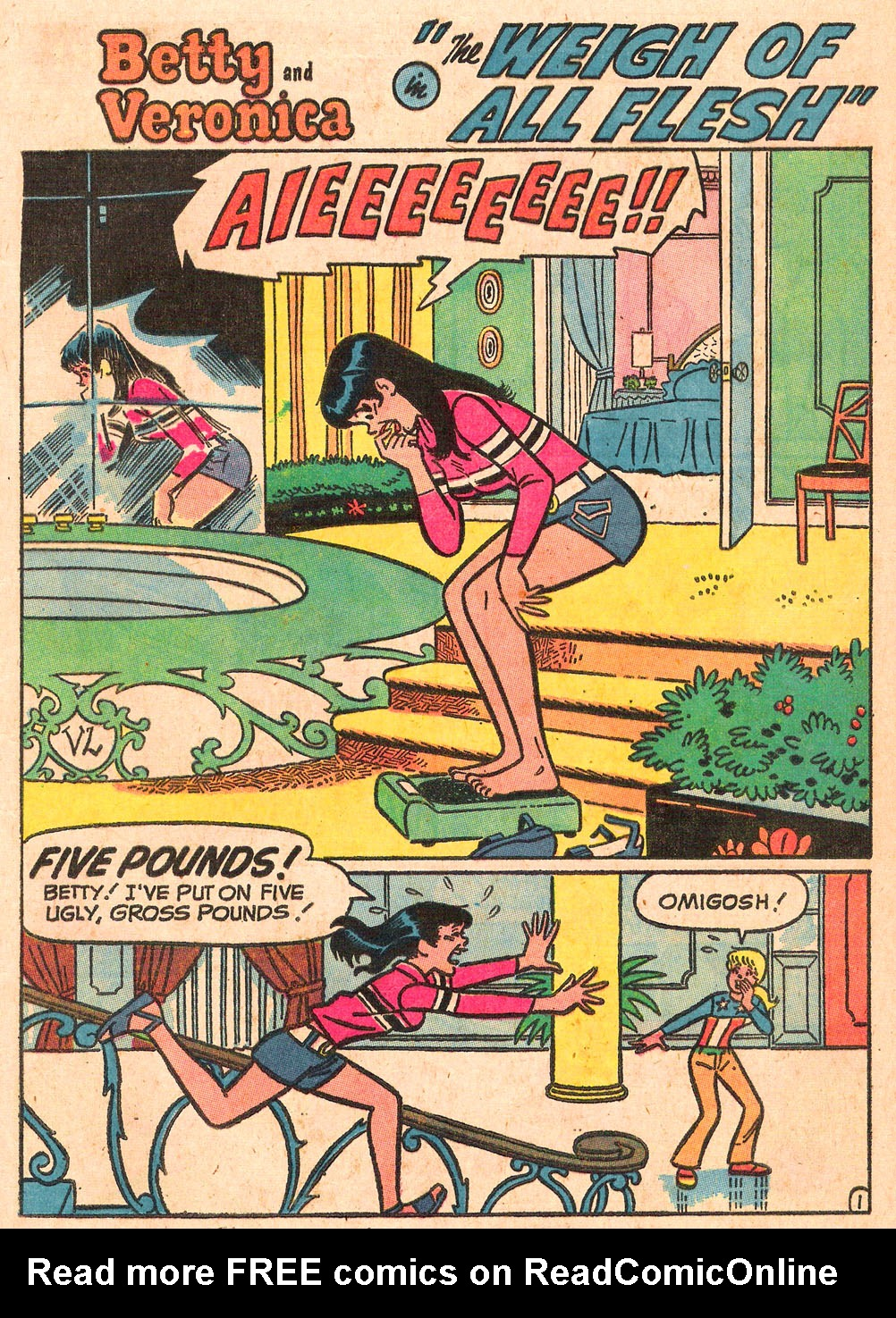 Read online Archie's Girls Betty and Veronica comic -  Issue #189 - 13