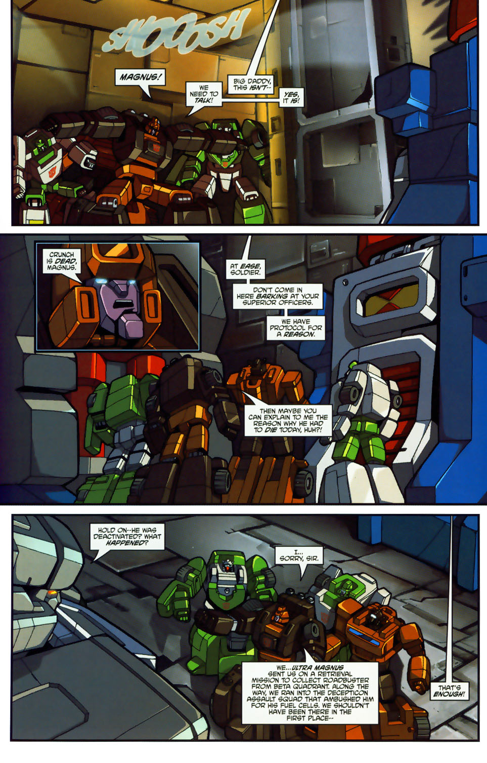Read online Transformers: Micromasters comic -  Issue #1 - 14