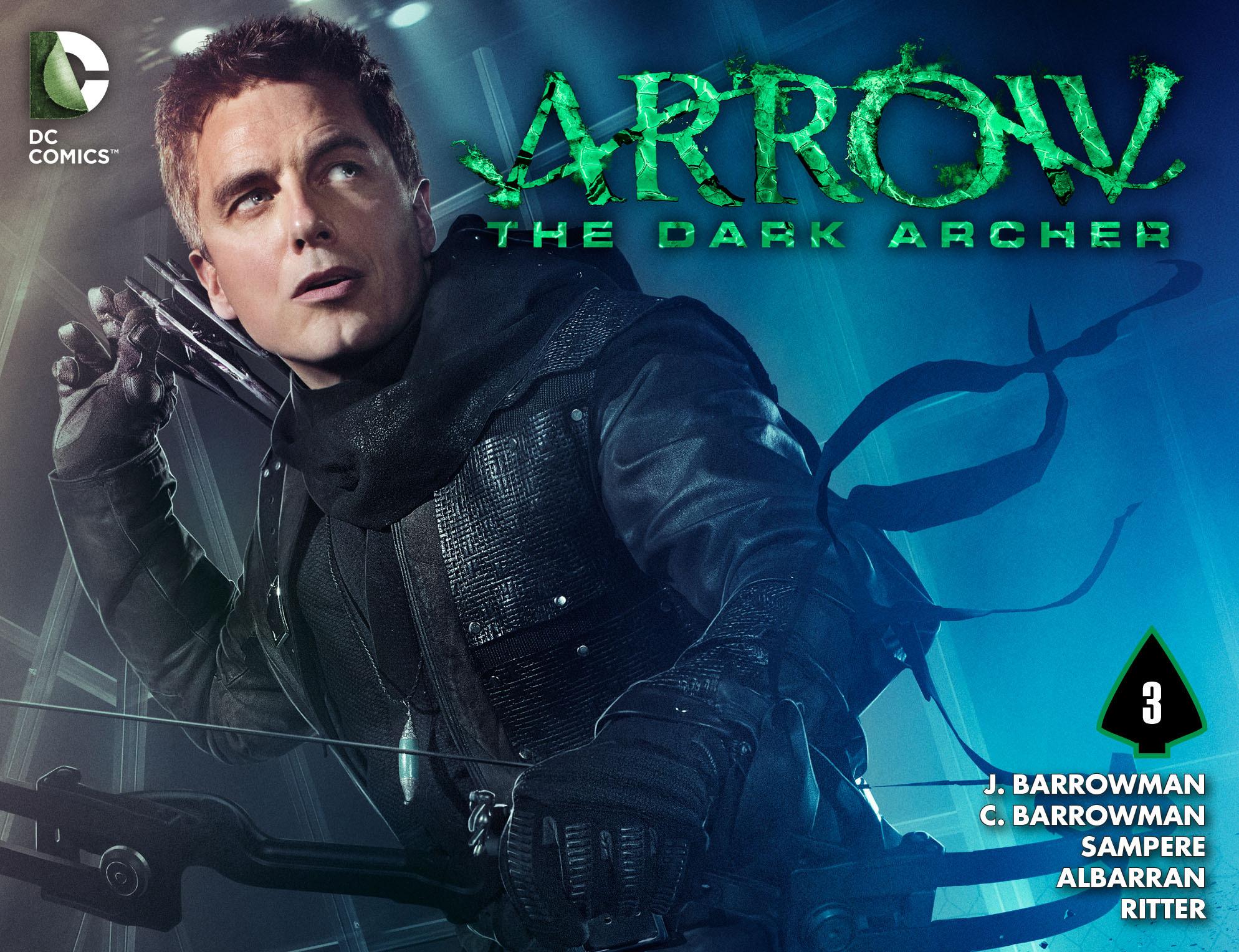 Read online Arrow: The Dark Archer comic -  Issue #3 - 1