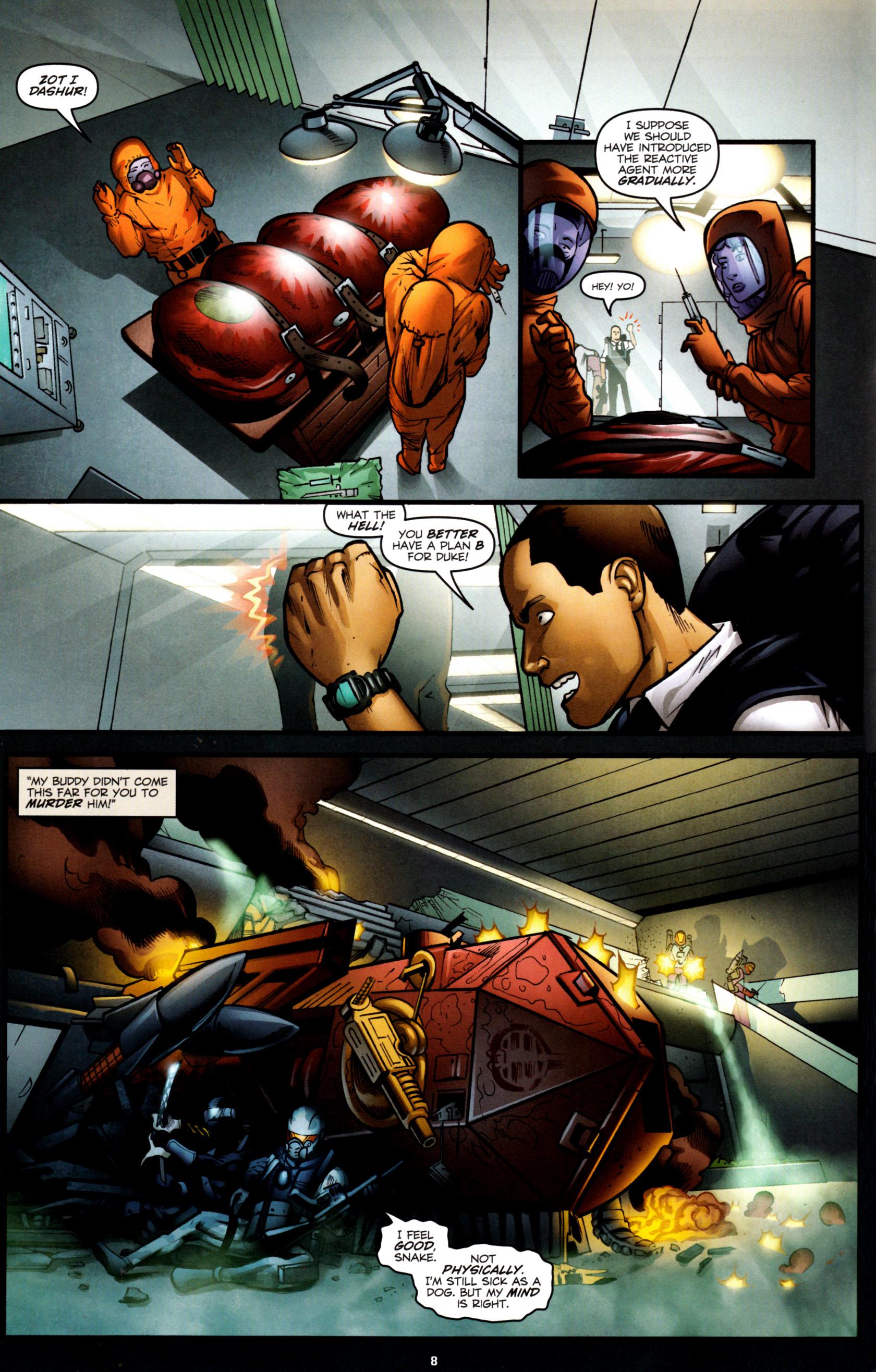 Read online G.I. Joe: Snake Eyes comic -  Issue #8 - 11