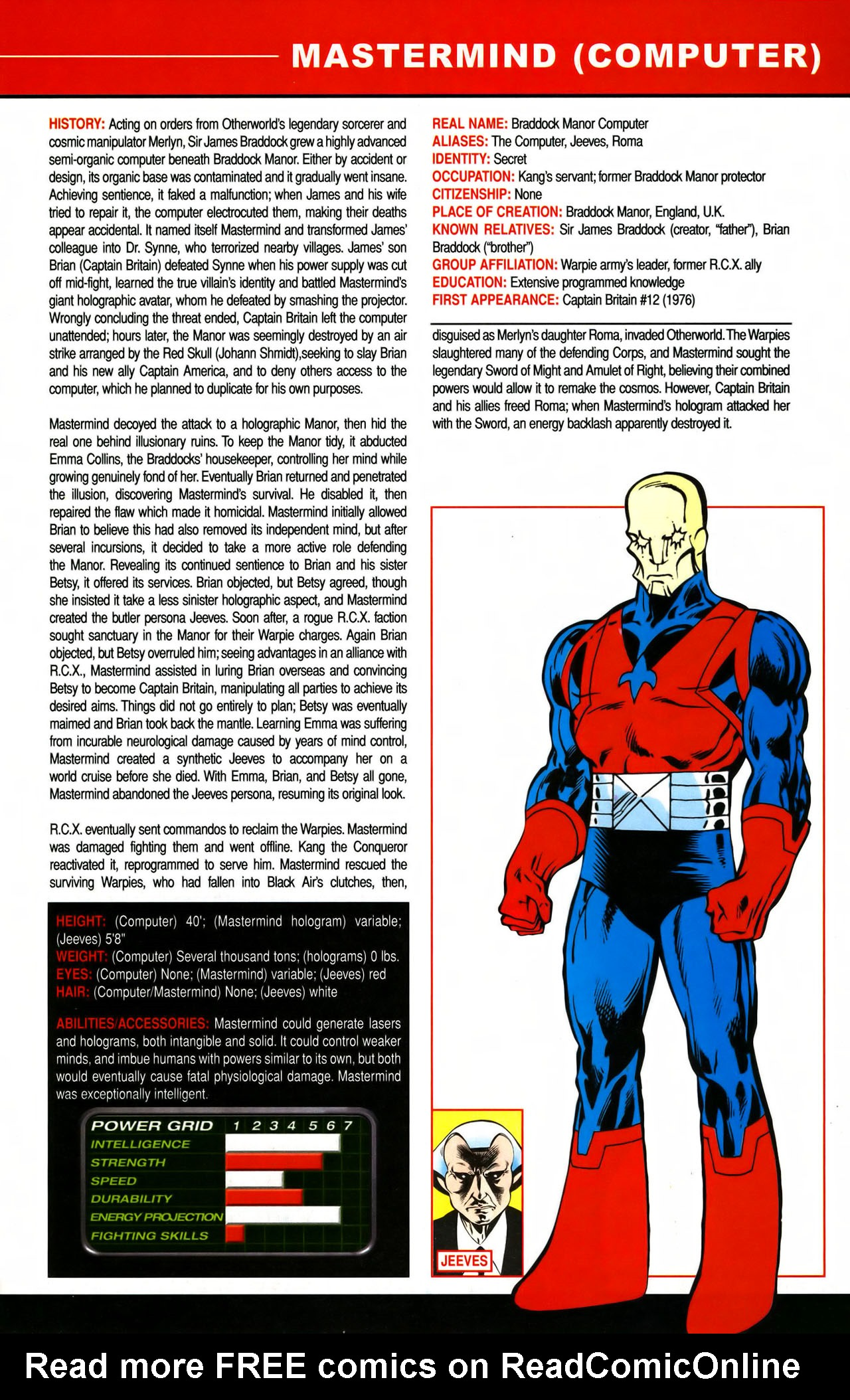 Read online All-New Official Handbook of the Marvel Universe A to Z comic -  Issue #7 - 19