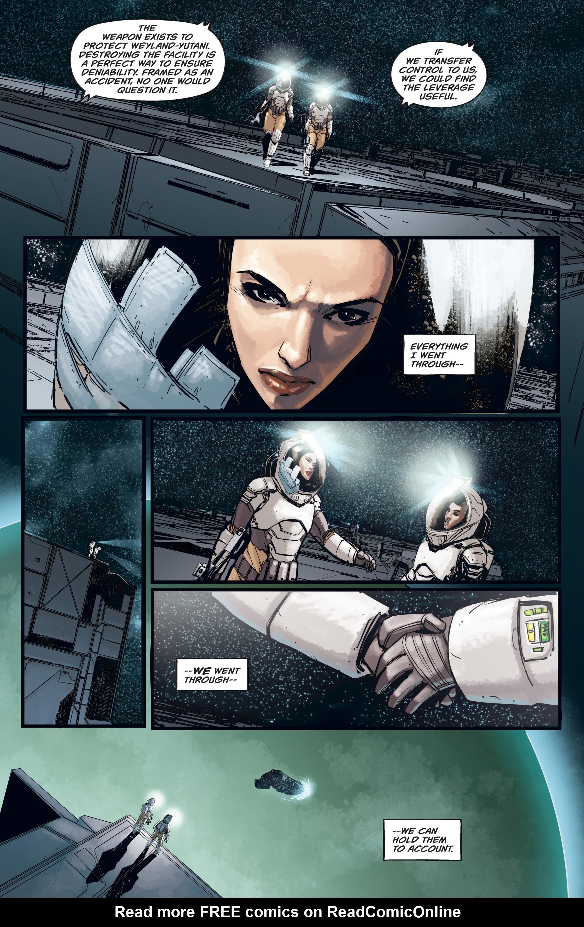 Read online Aliens: Resistance comic -  Issue # _TPB - 42