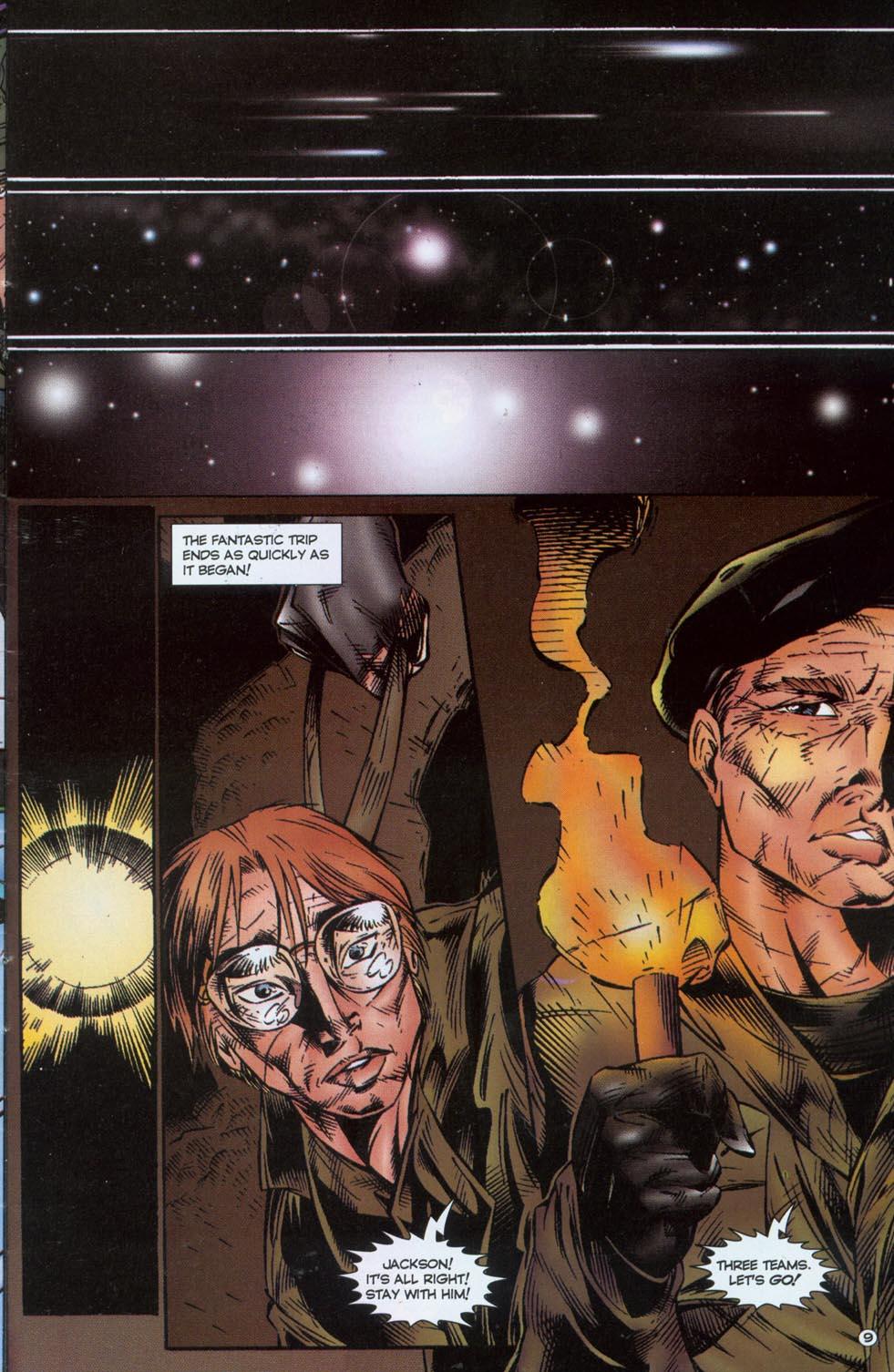 Read online Stargate comic -  Issue #1 - 11