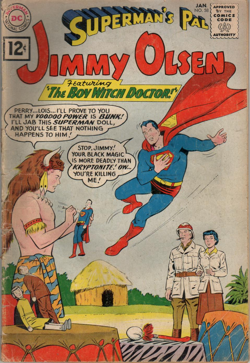 Supermans Pal Jimmy Olsen (1954) 58 Page 1