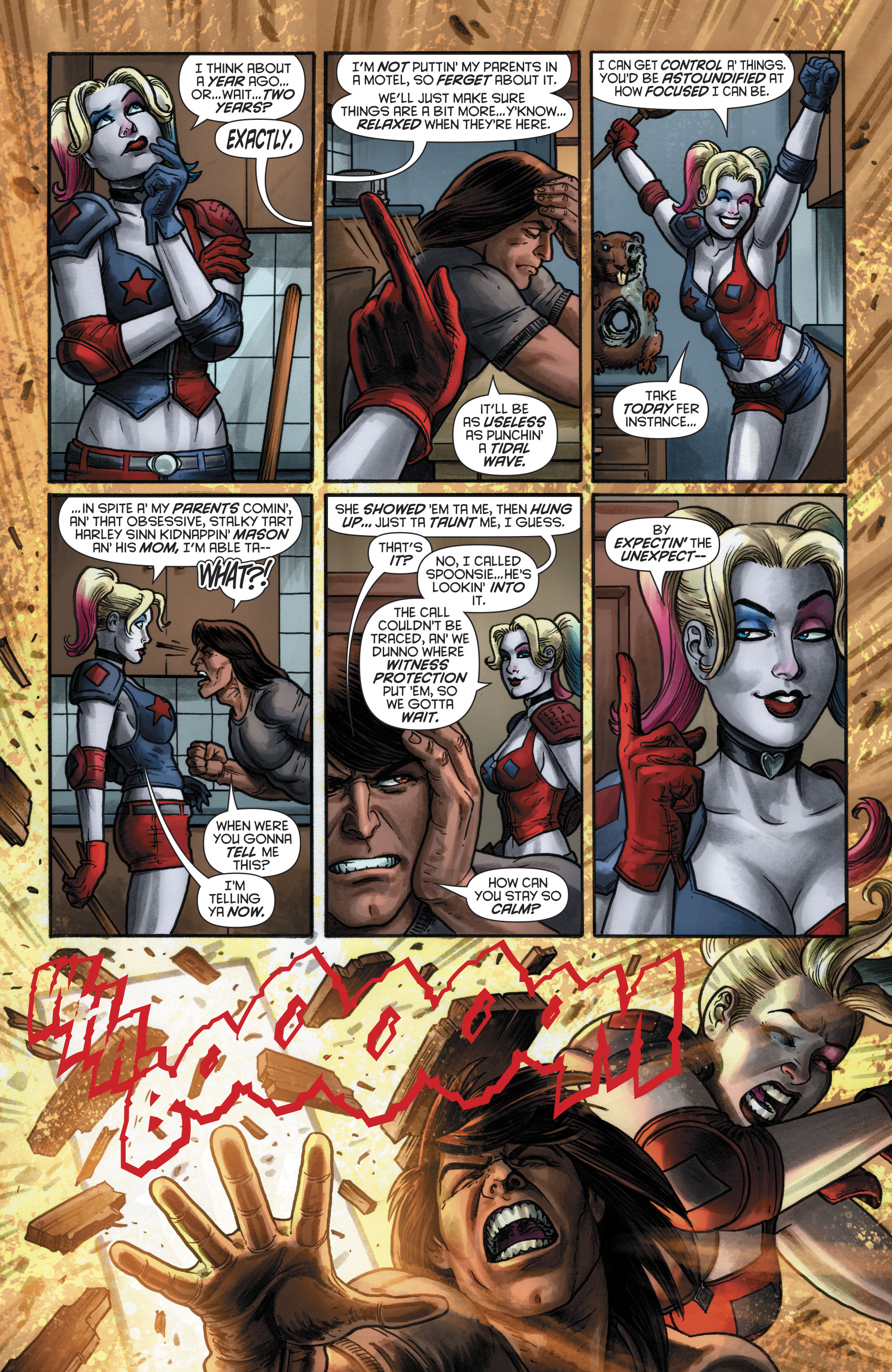 Read online Harley Quinn (2016) comic -  Issue #20 - 11