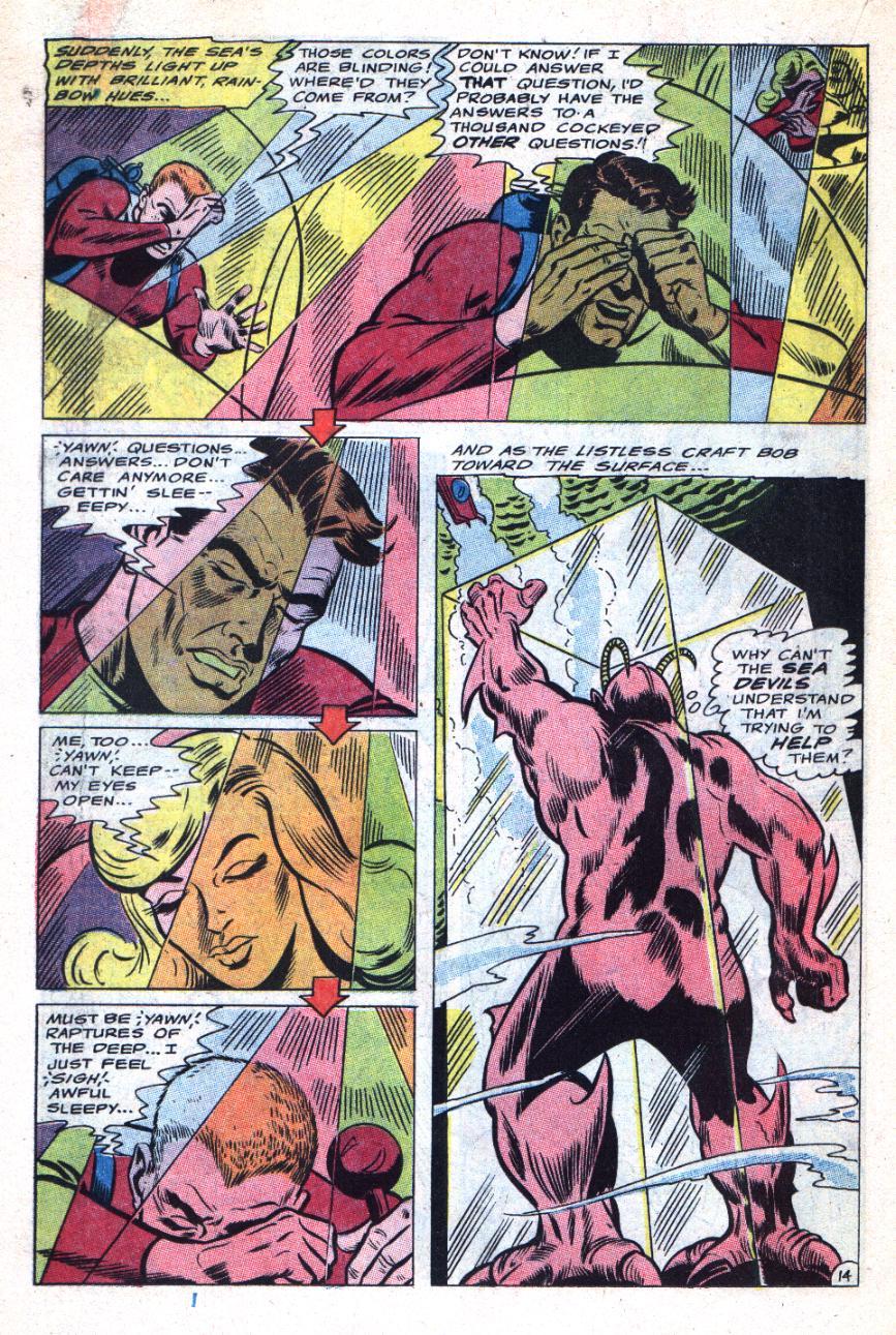 Read online Sea Devils comic -  Issue #31 - 19