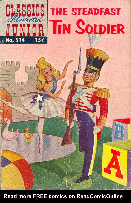 Classics Illustrated Junior 515 Page 1
