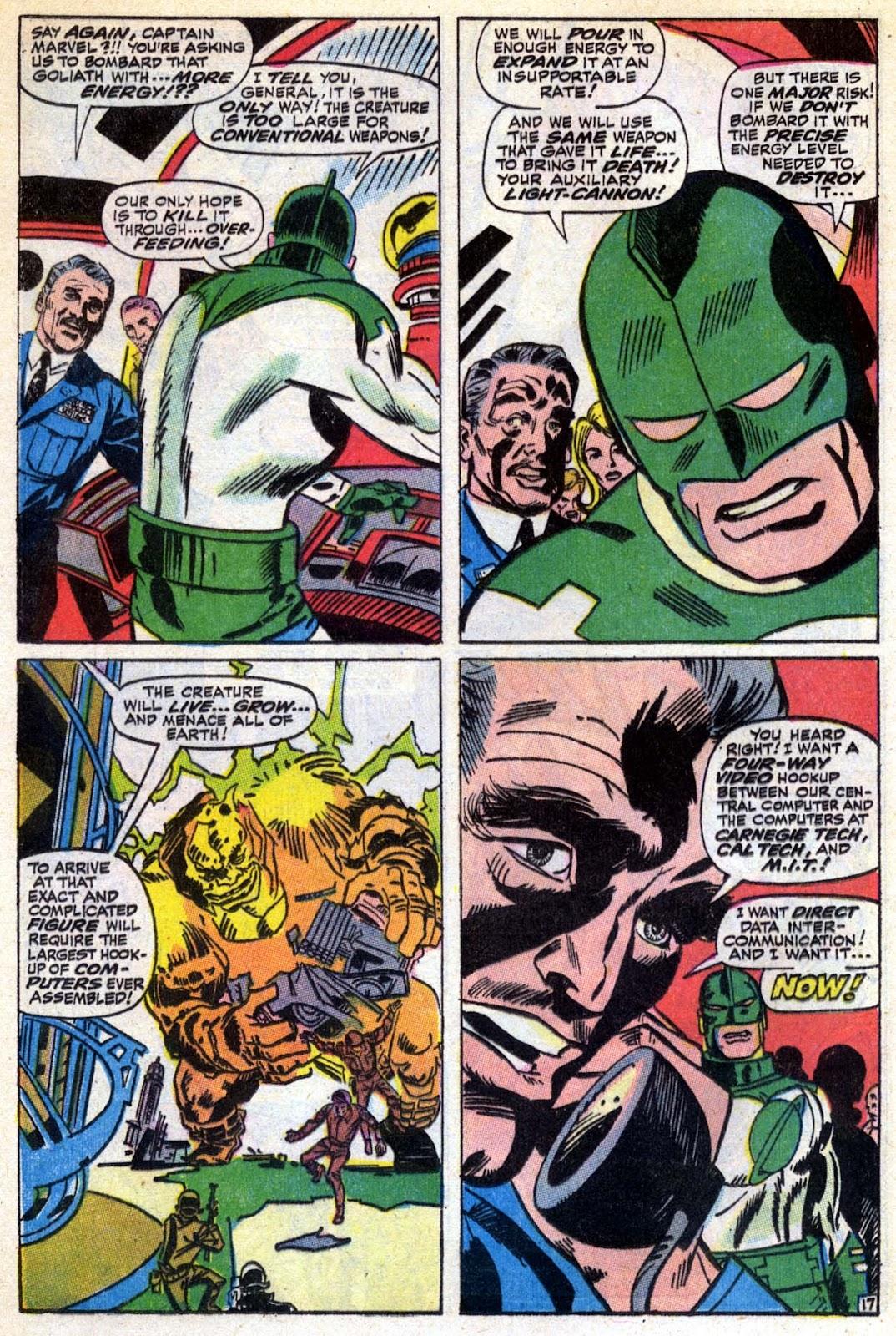 Captain Marvel (1968) Issue #6 #6 - English 18