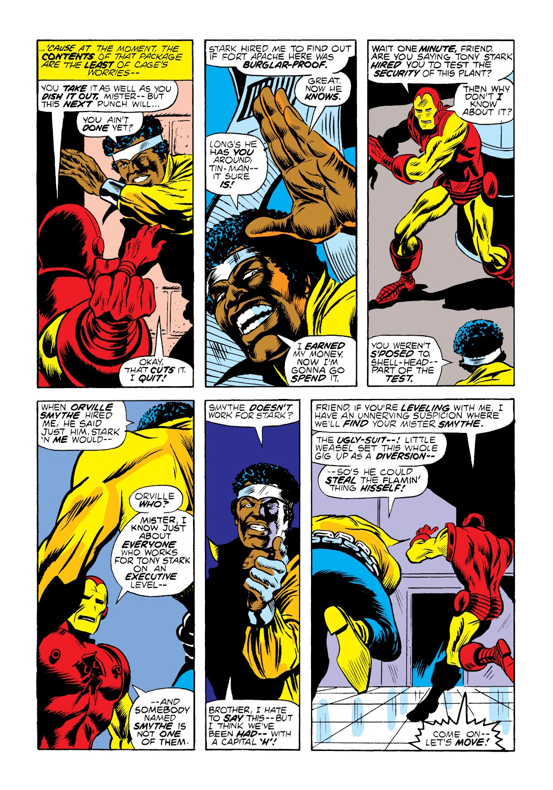 Read online Marvel Masterworks: Luke Cage, Power Man comic -  Issue # TPB 2 (Part 1) - 24