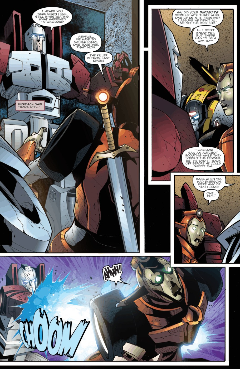 Read online Transformers Prime: Beast Hunters comic -  Issue #2 - 14