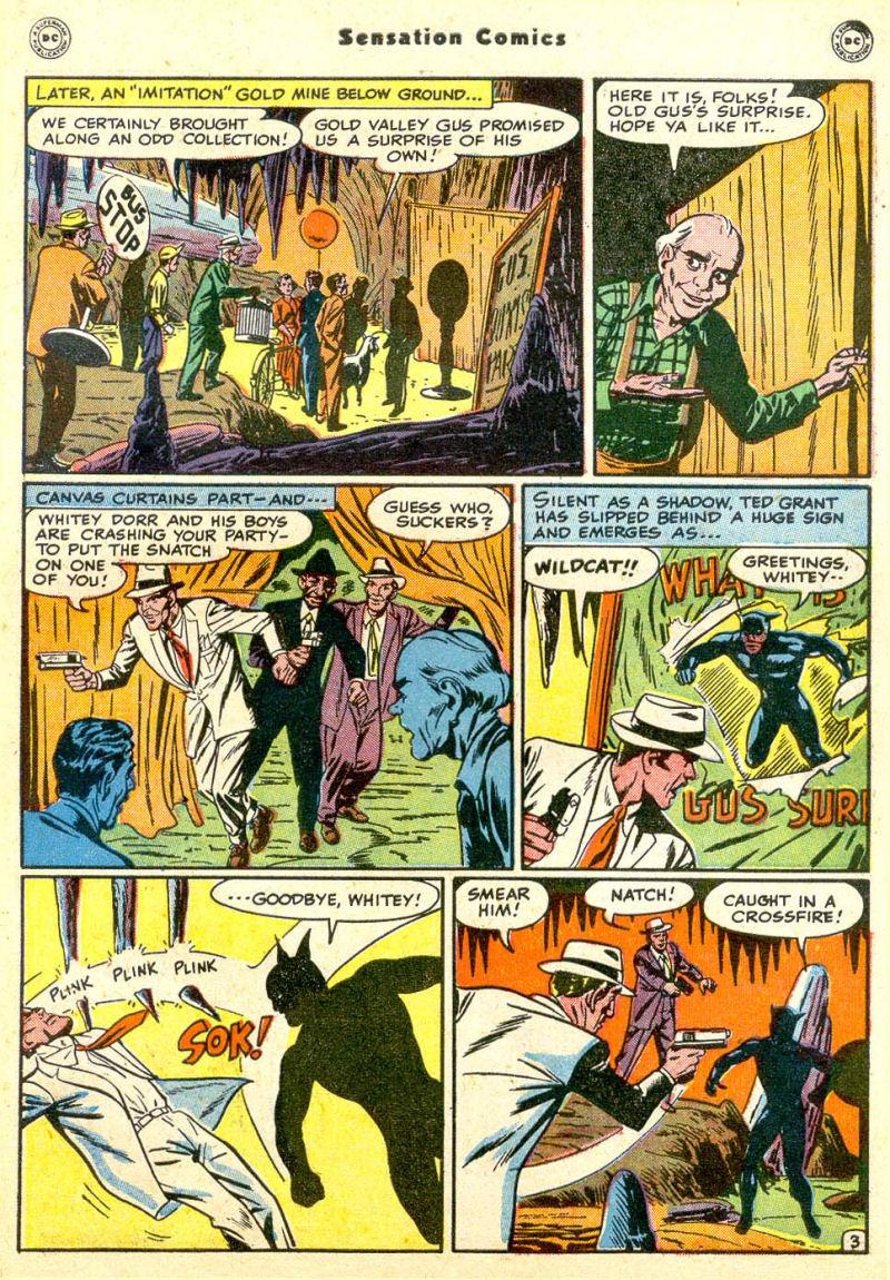 Read online Sensation (Mystery) Comics comic -  Issue #85 - 44