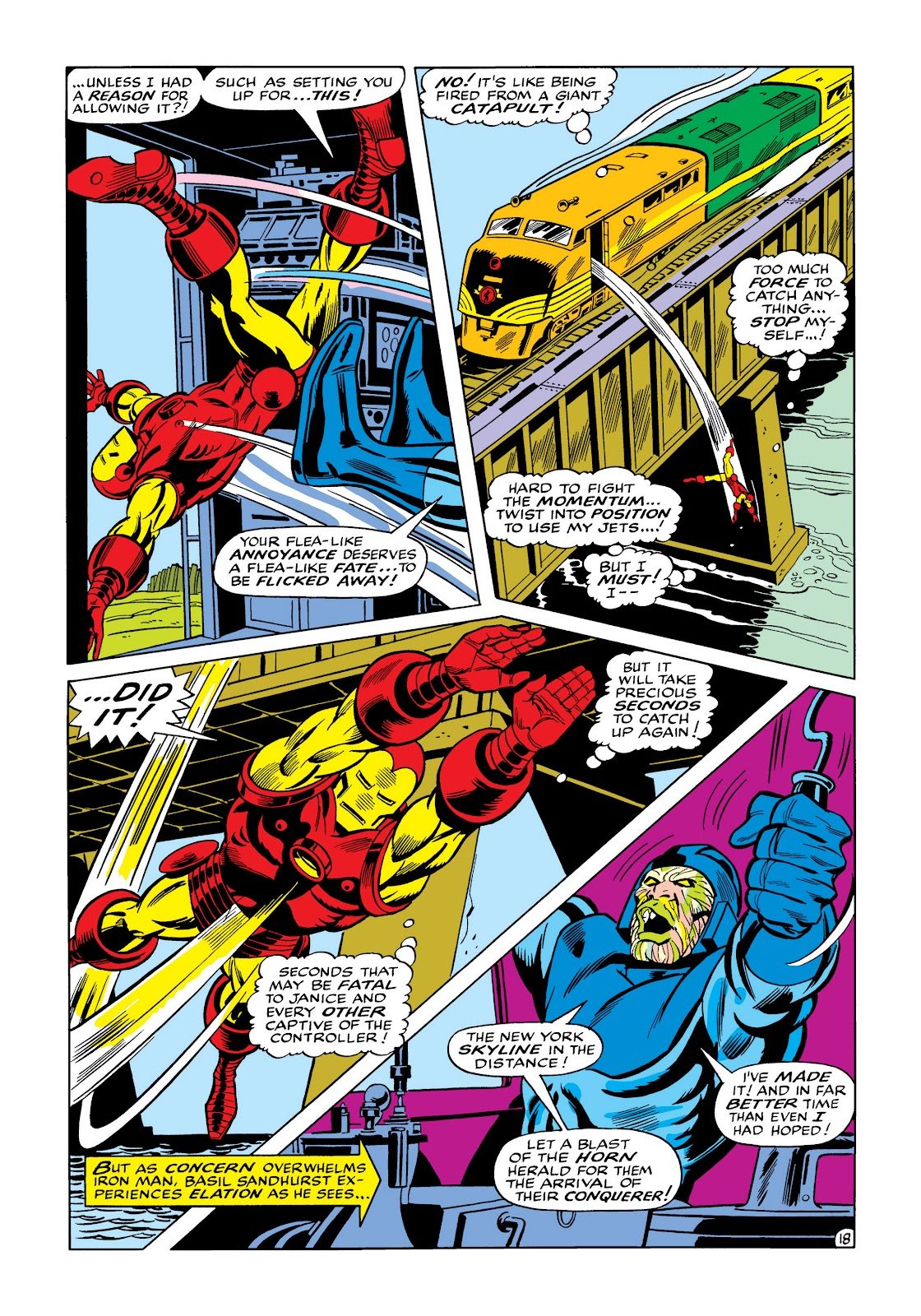 Read online Marvel Masterworks: The Invincible Iron Man comic -  Issue # TPB 5 (Part 3) - 56