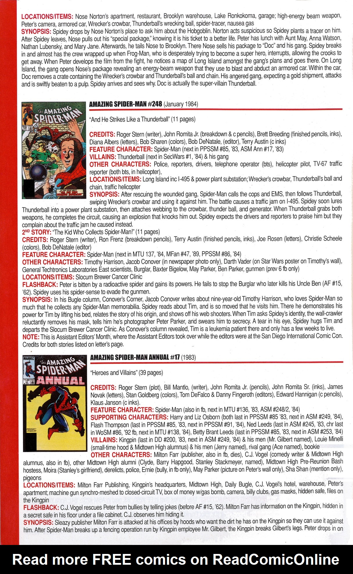 Read online Official Index to the Marvel Universe comic -  Issue #6 - 4