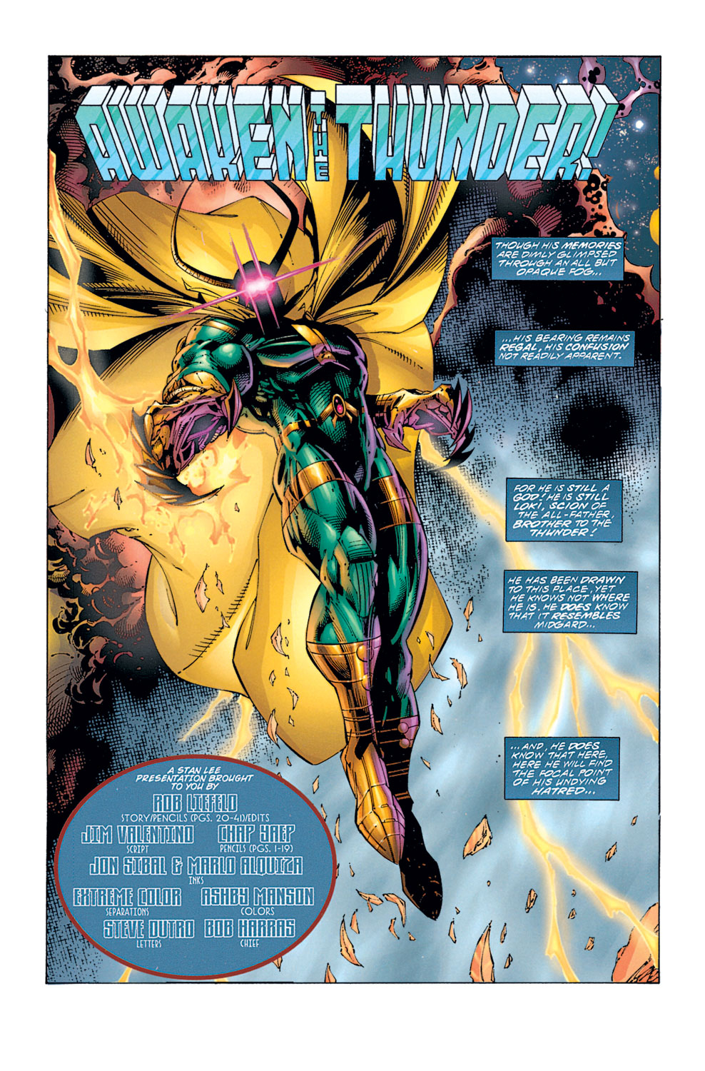 Read online Avengers (1996) comic -  Issue #1 - 2