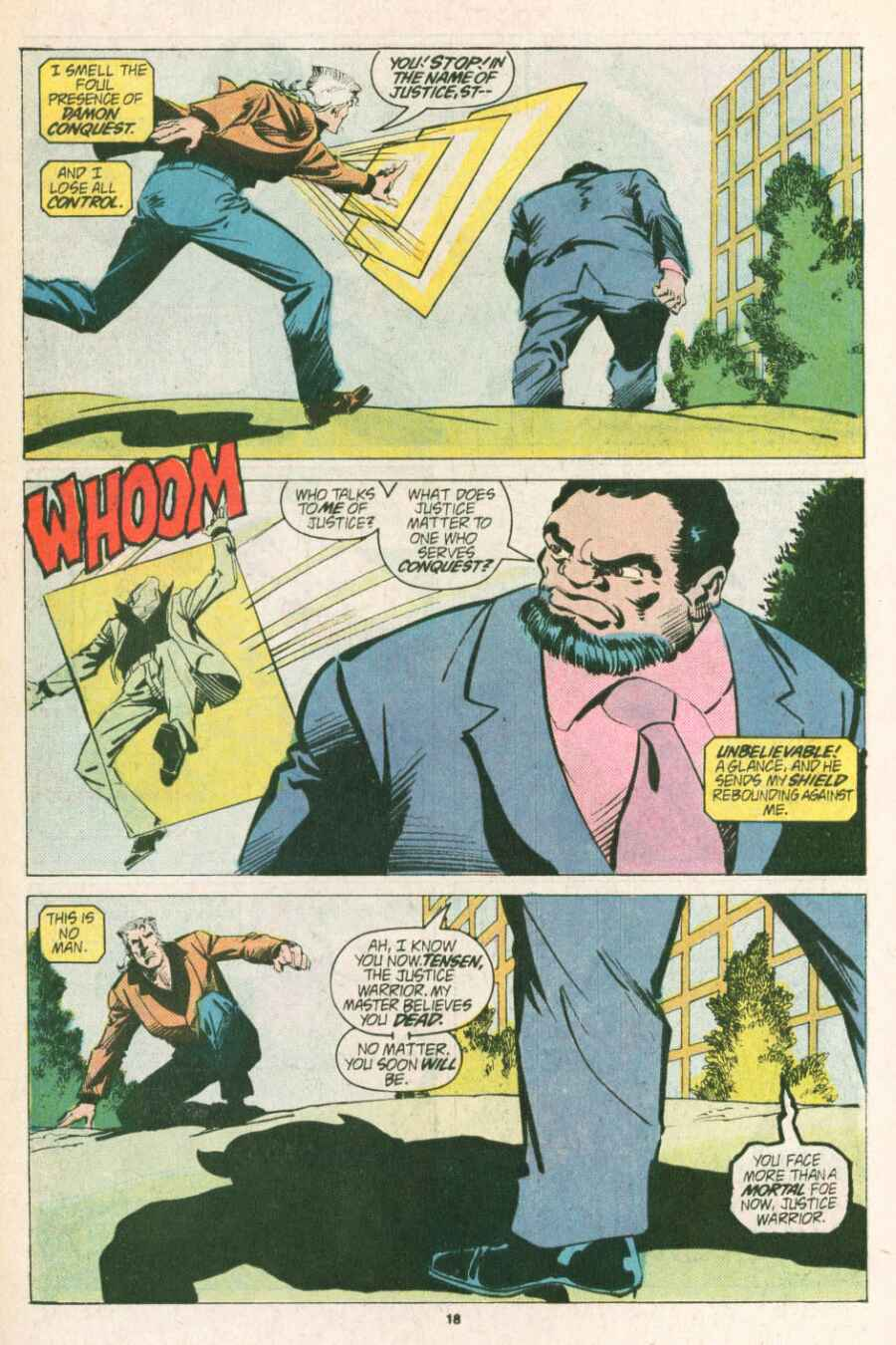 Read online Justice (1986) comic -  Issue #13 - 19